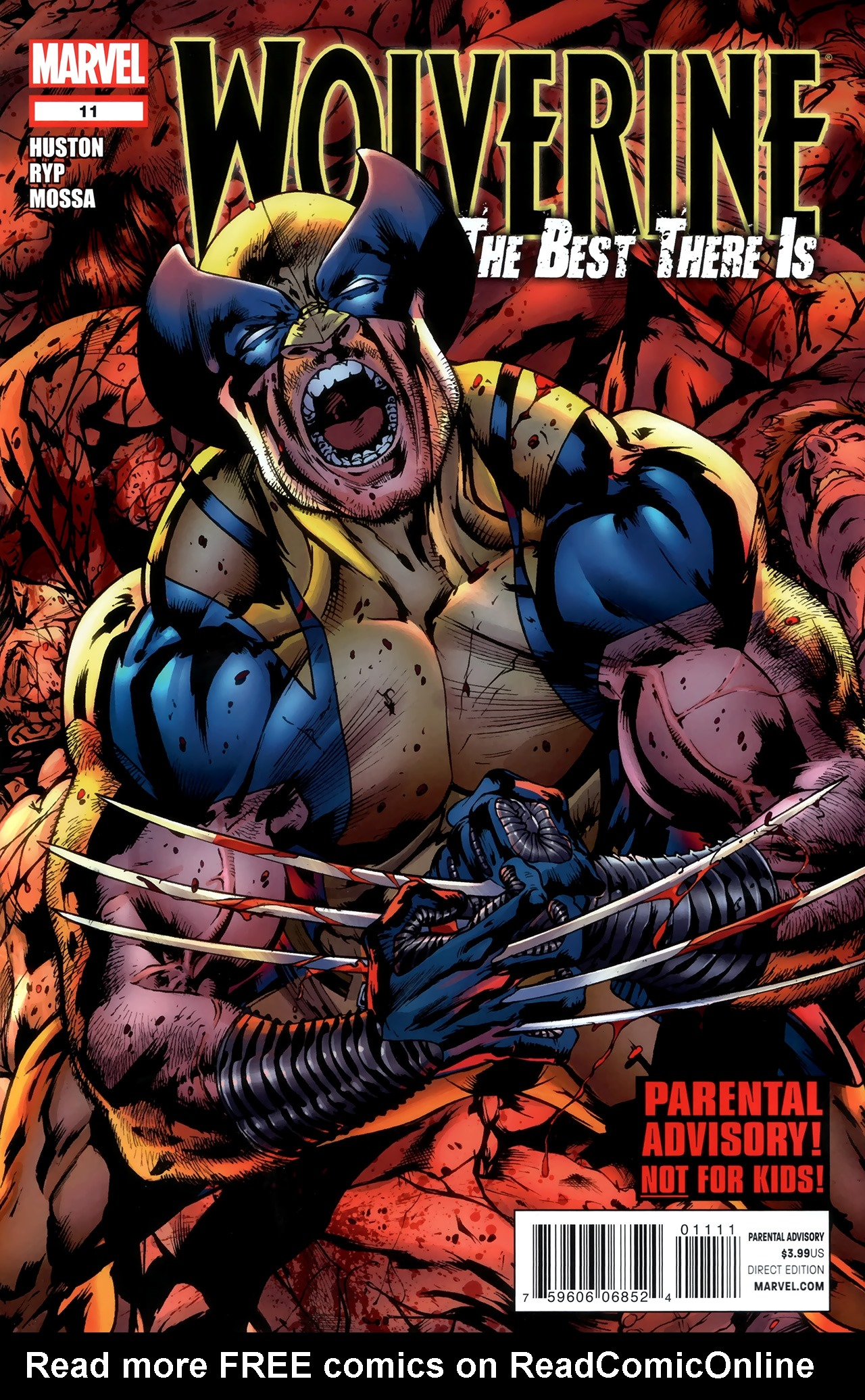 Read online Wolverine: The Best There Is comic -  Issue #11 - 1