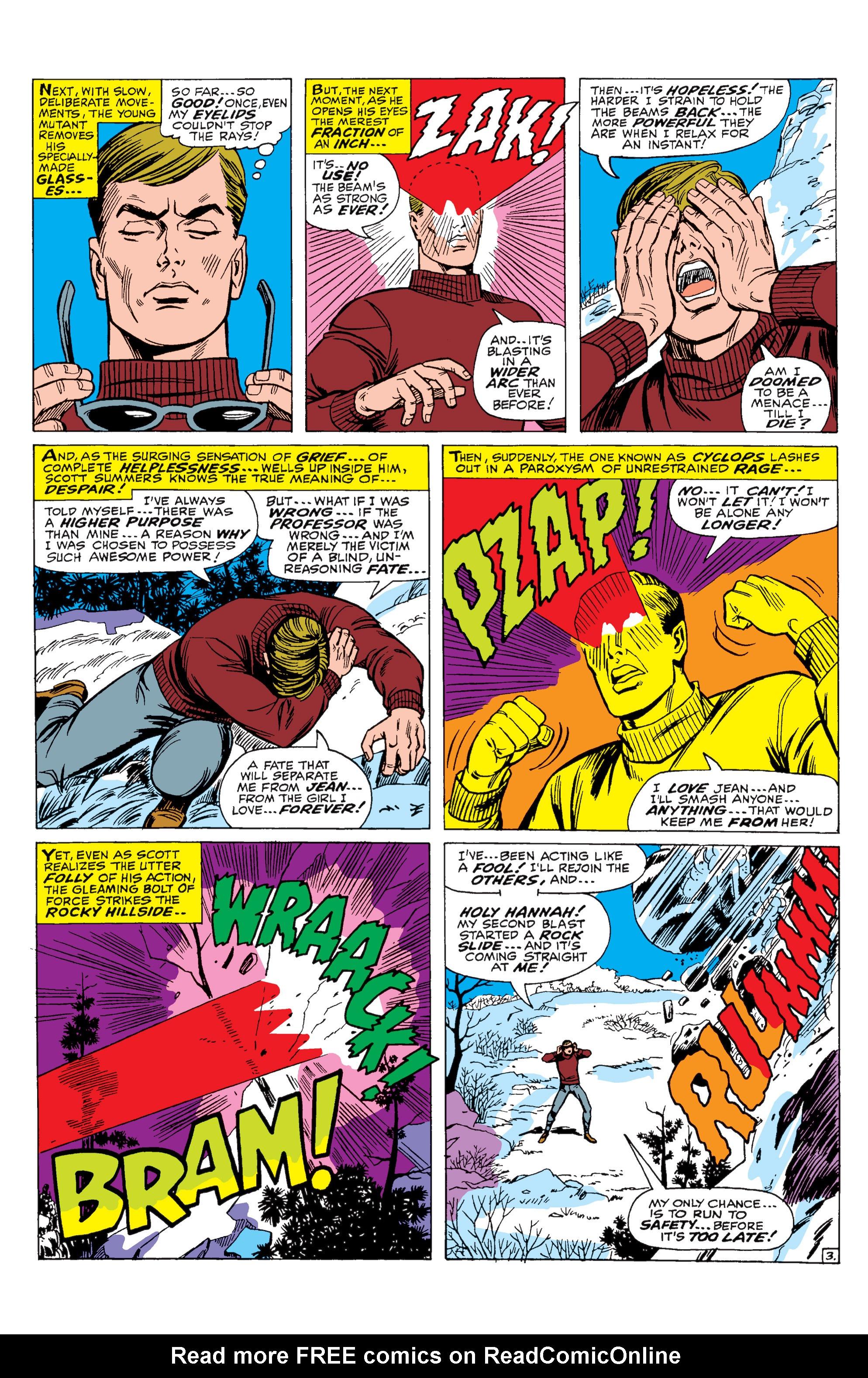Read online Uncanny X-Men (1963) comic -  Issue #29 - 4