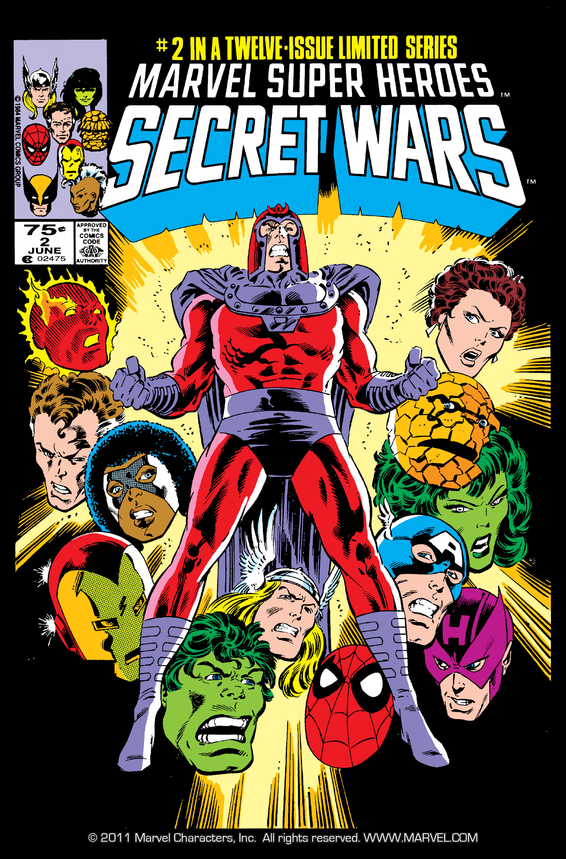 Read online Secret Wars (1985) comic -  Issue #2 - 1