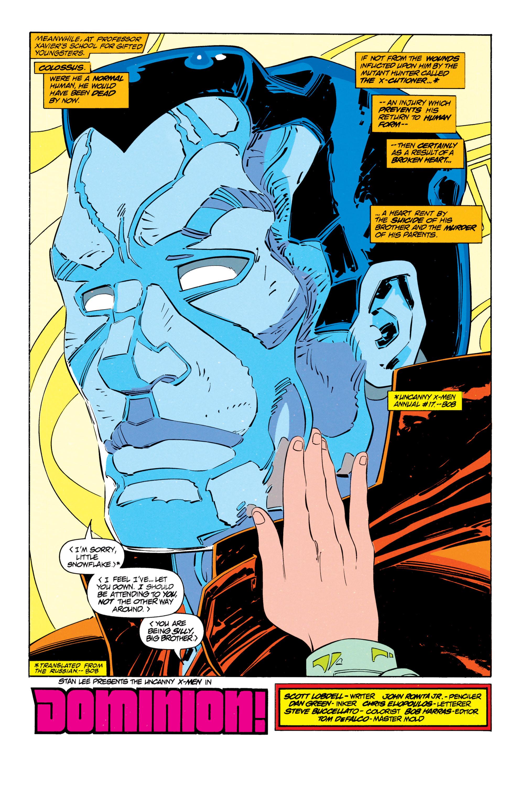 Read online Uncanny X-Men (1963) comic -  Issue #301 - 7