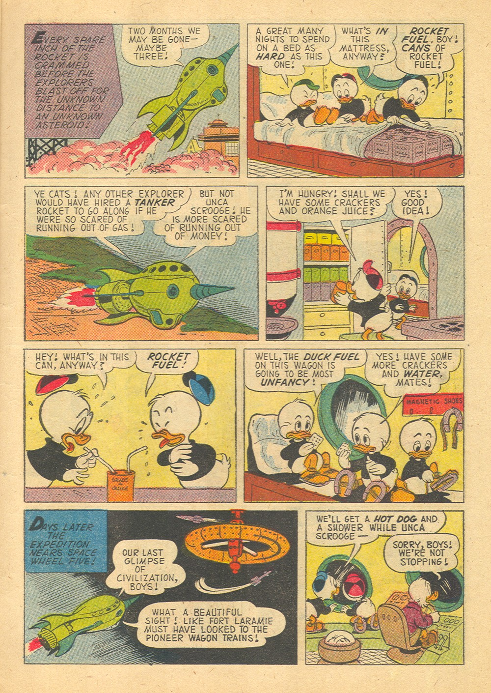 Read online Uncle Scrooge (1953) comic -  Issue #29 - 7