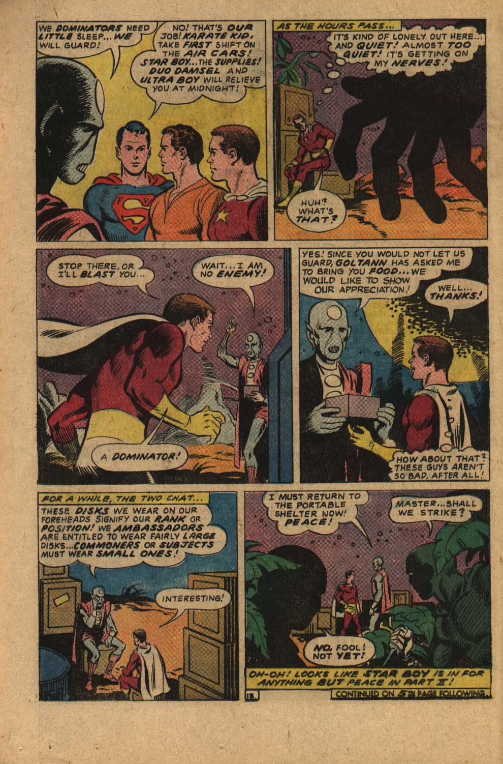 Read online Adventure Comics (1938) comic -  Issue #361 - 16