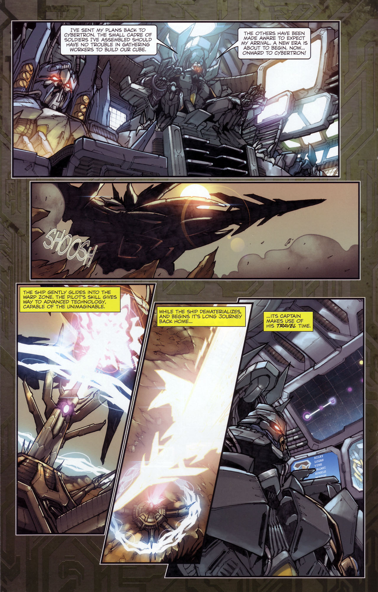 Read online Transformers: The Reign of Starscream comic -  Issue #3 - 15