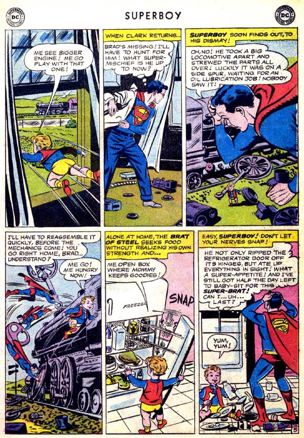 Superboy (1949) issue 70 - Page 6
