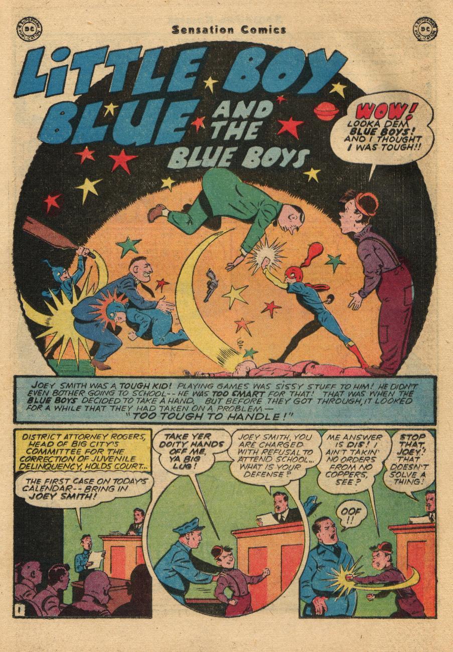 Read online Sensation (Mystery) Comics comic -  Issue #61 - 17