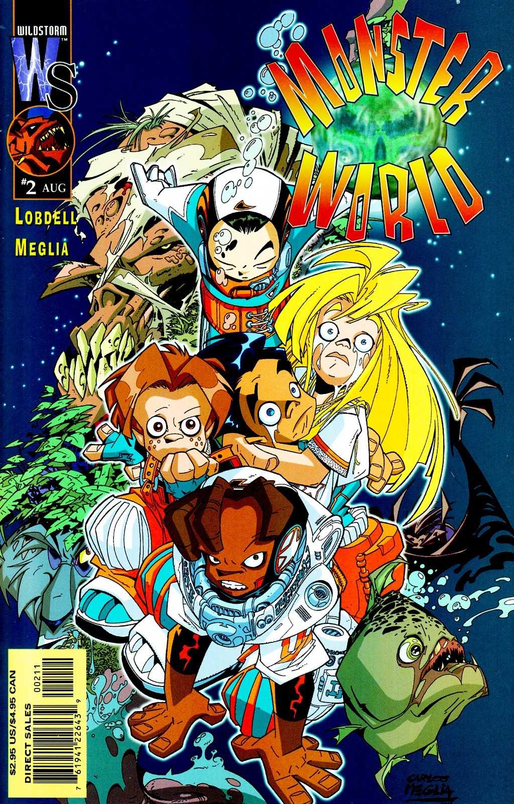 Read online Monster World (Existed) comic -  Issue #2 - 1