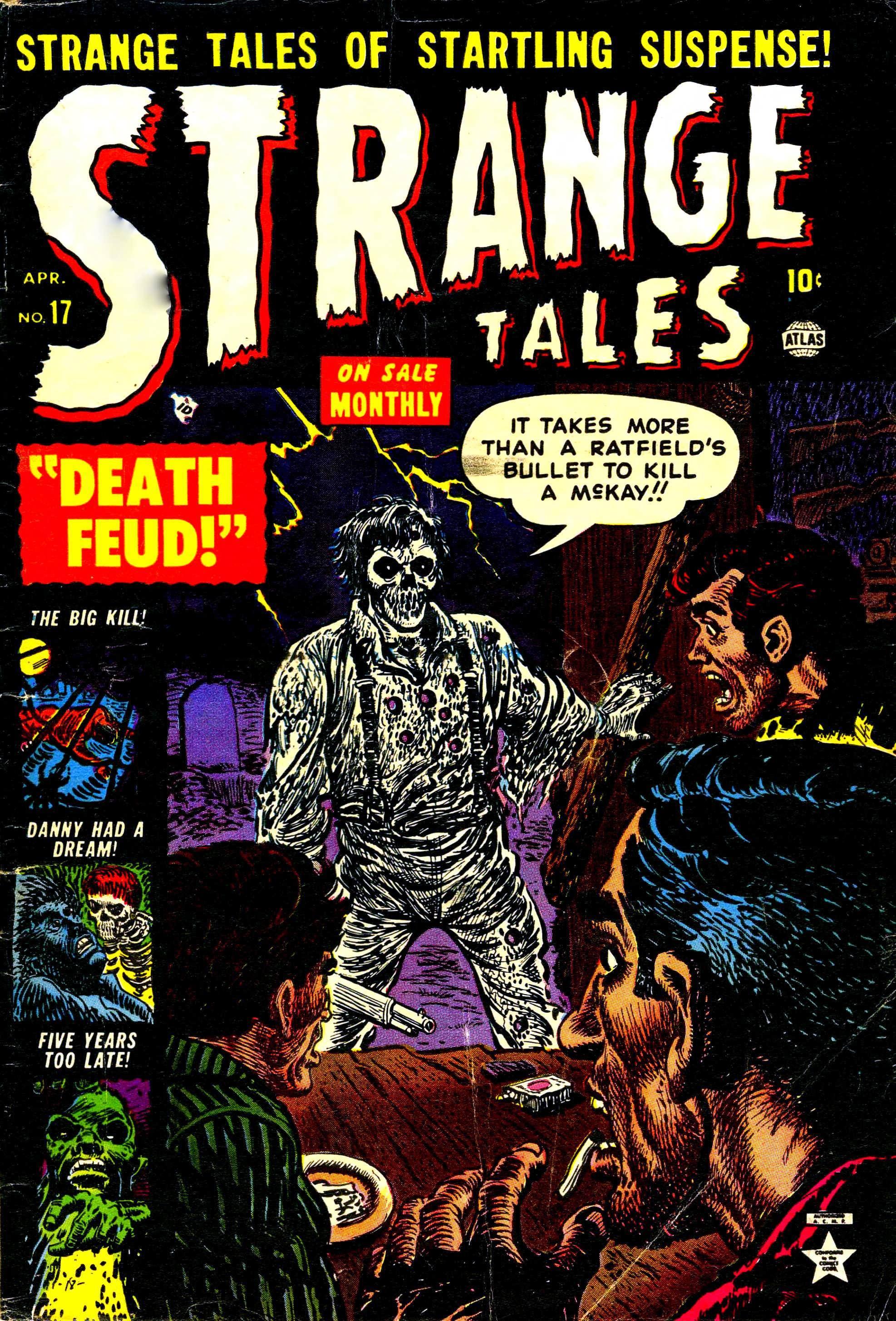 Strange Tales (1951) 17 Page 1