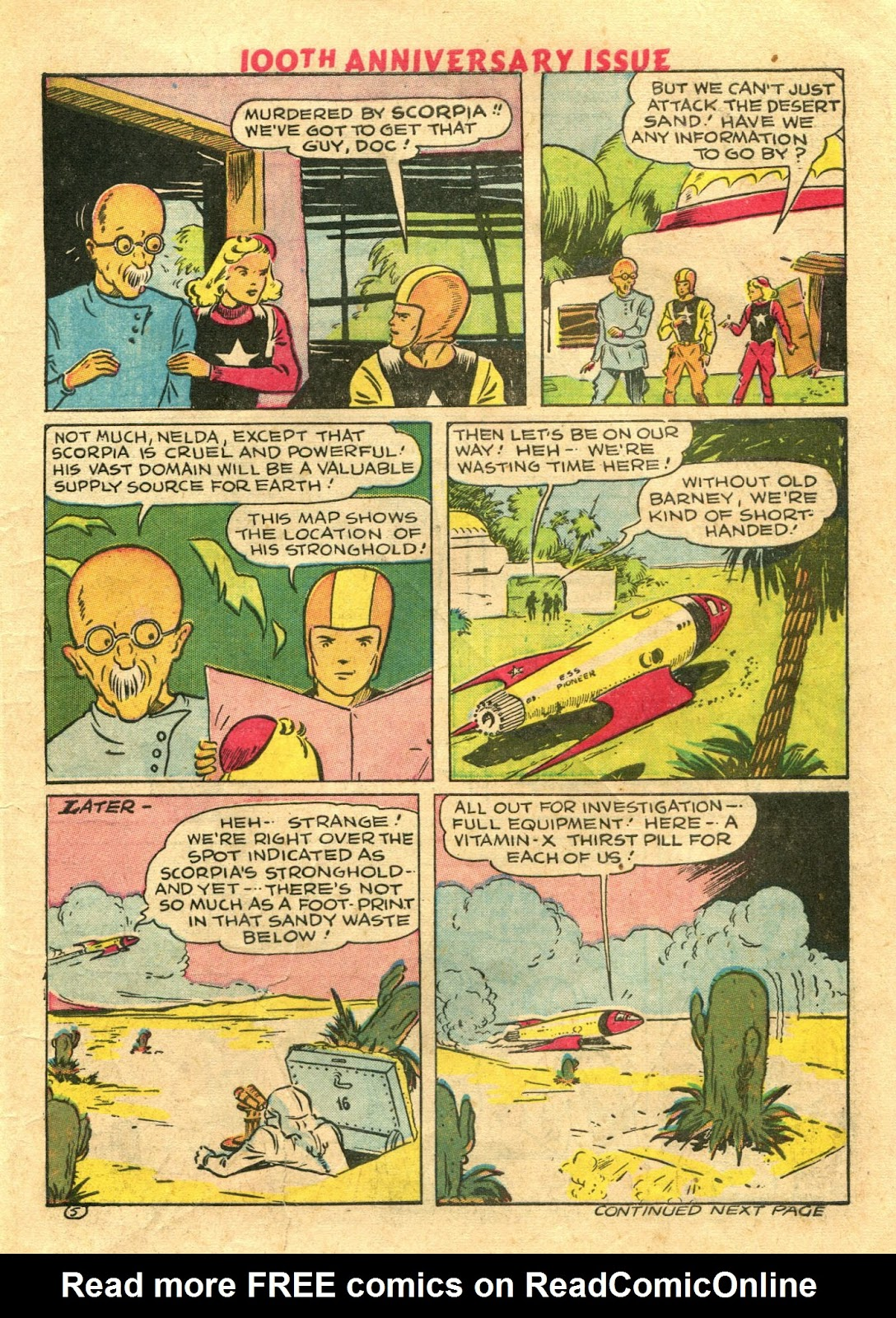 Read online Famous Funnies comic -  Issue #100 - 7