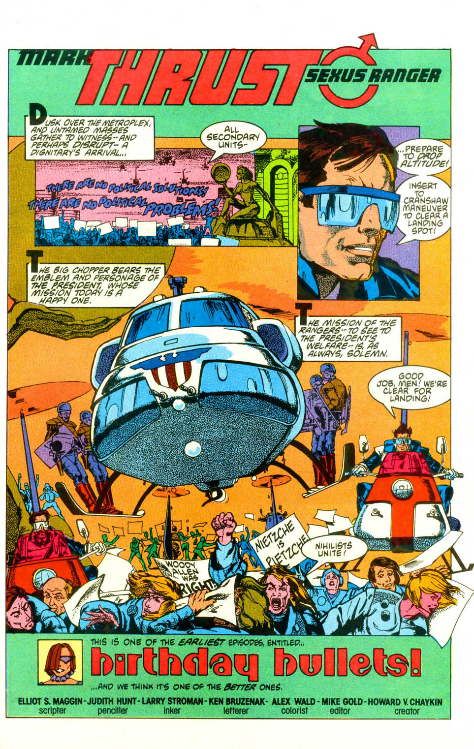 Read online American Flagg! comic -  Issue #19 - 25