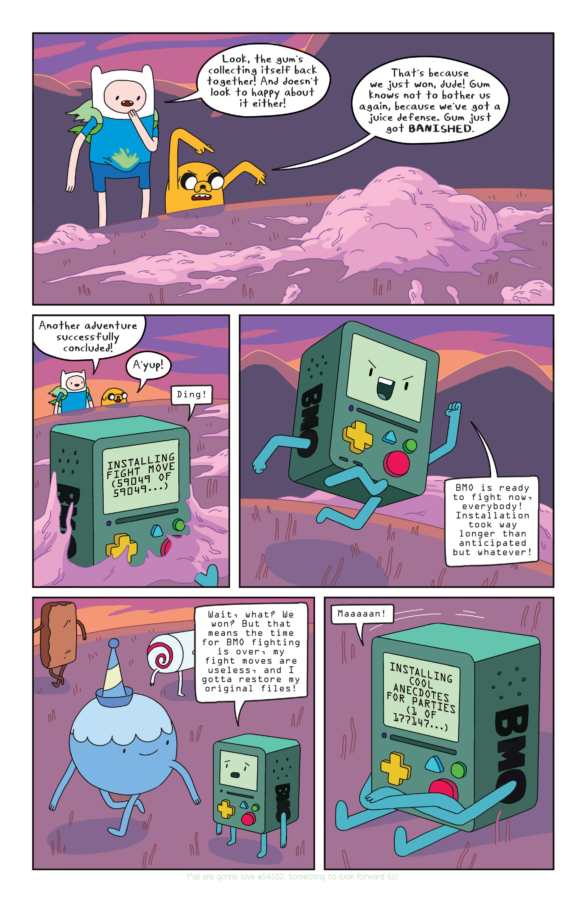 Read online Adventure Time comic -  Issue #Adventure Time _TPB 5 - 91