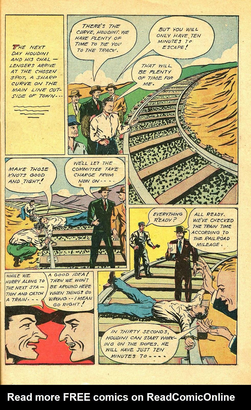 Read online Super-Magician Comics comic -  Issue #56 - 31