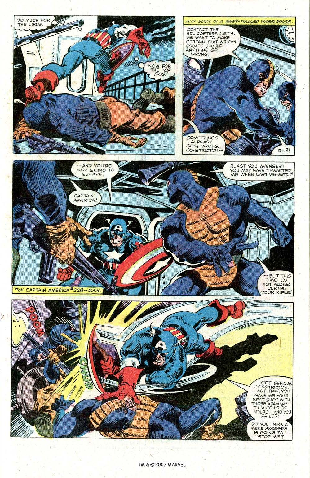 Read online Captain America (1968) comic -  Issue # _Annual 5 - 5