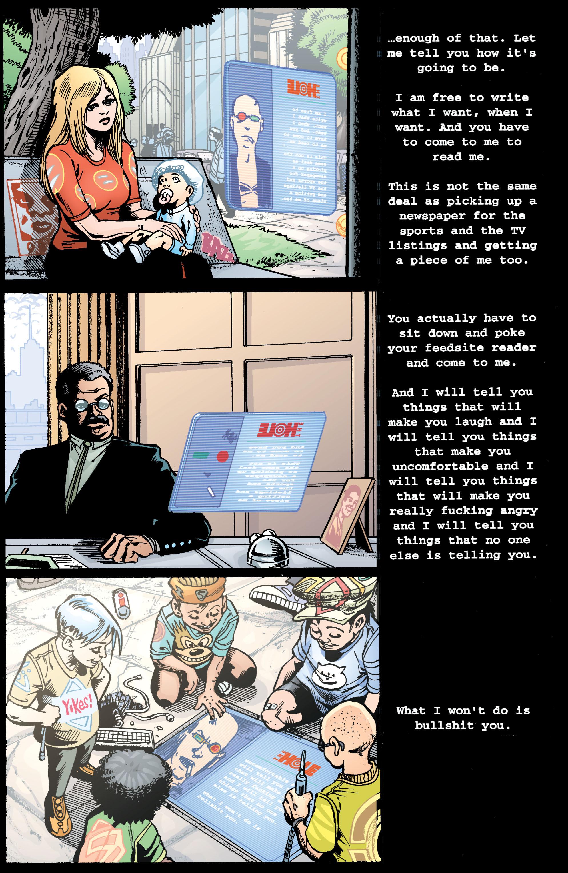 Read online Transmetropolitan comic -  Issue #39 - 16
