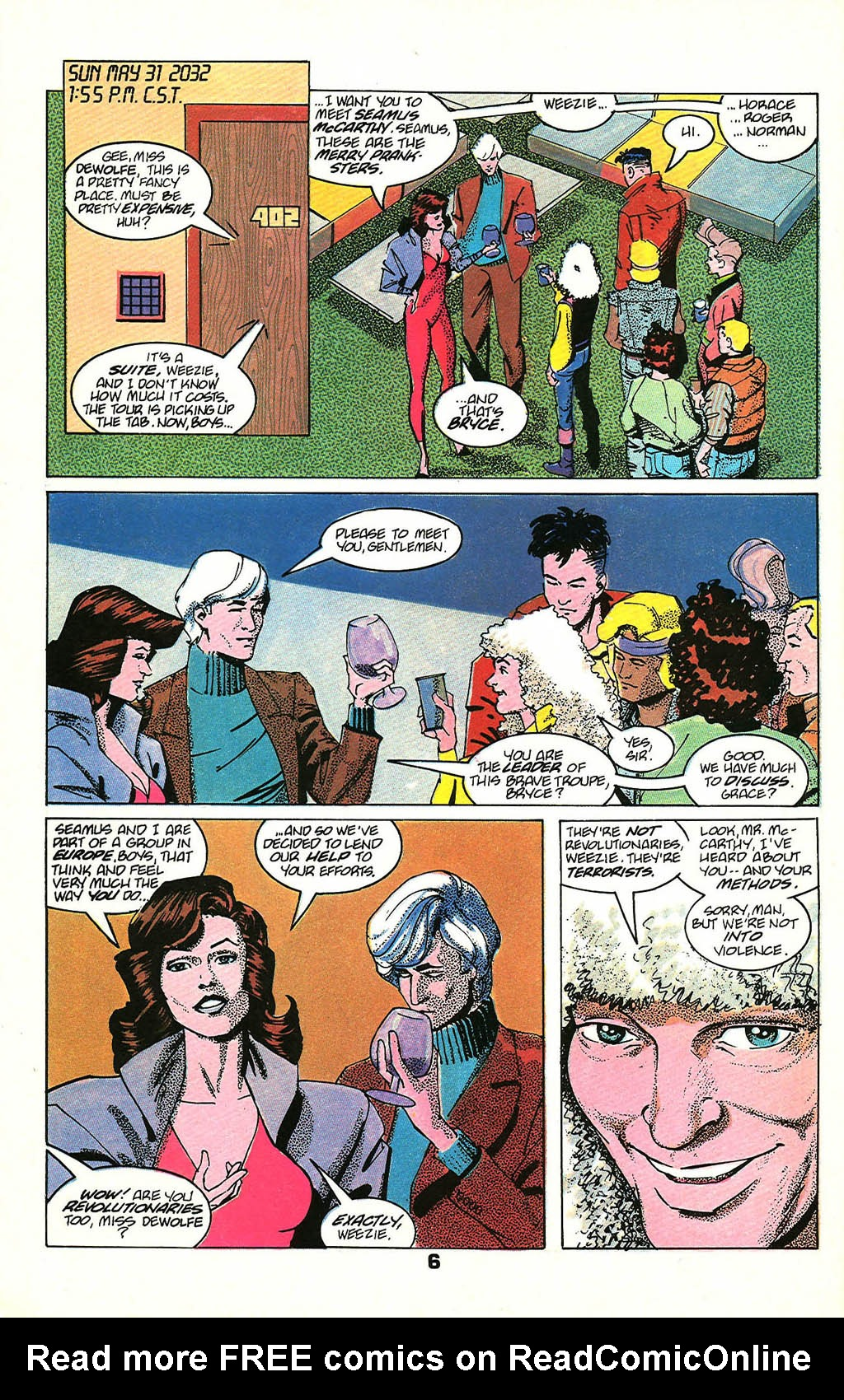 Read online American Flagg! comic -  Issue #48 - 8