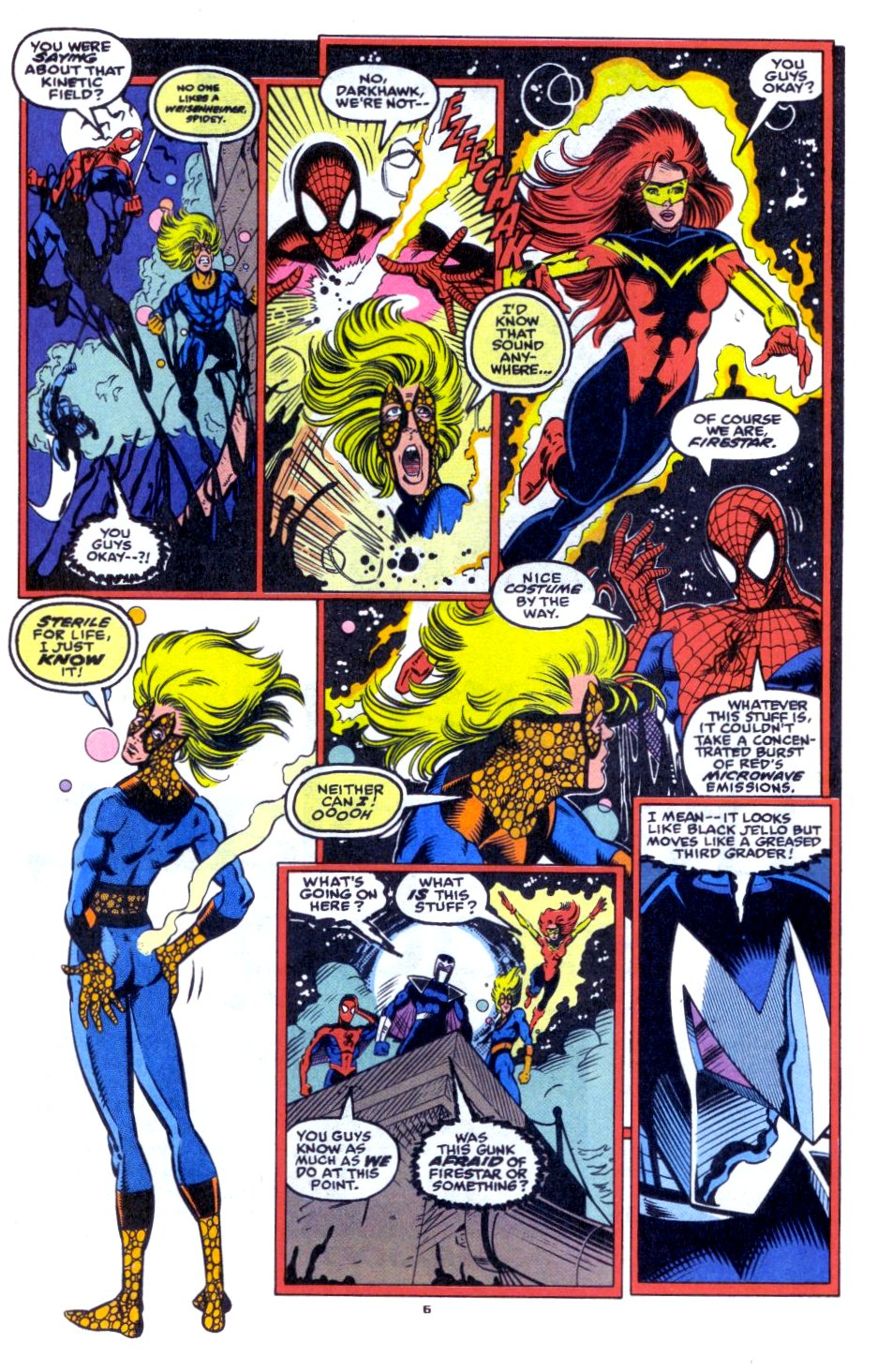 The New Warriors Issue #33 #37 - English 6