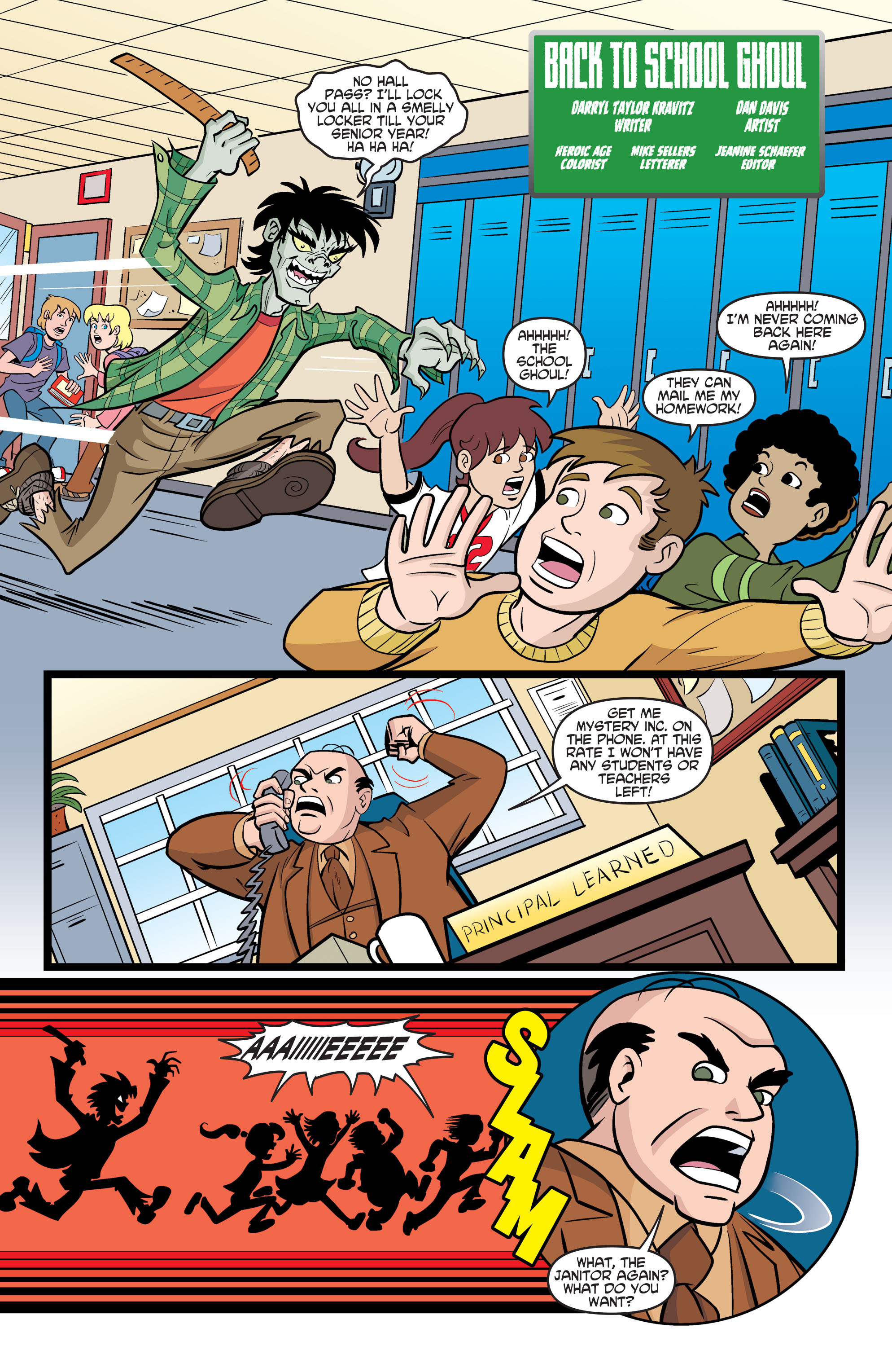 Read online Scooby-Doo: Where Are You? comic -  Issue #70 - 18