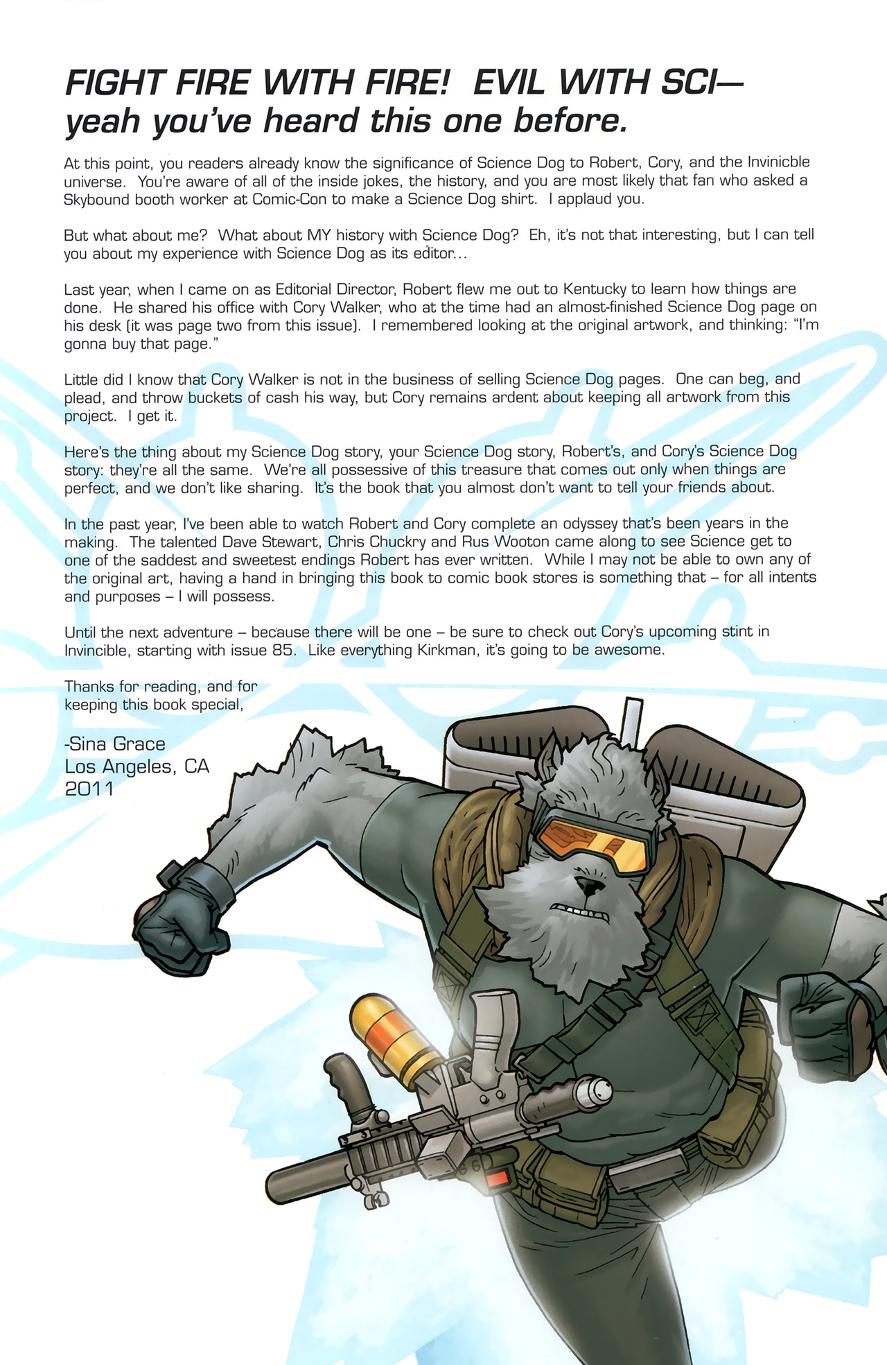 Read online Science Dog Special comic -  Issue #2 - 29