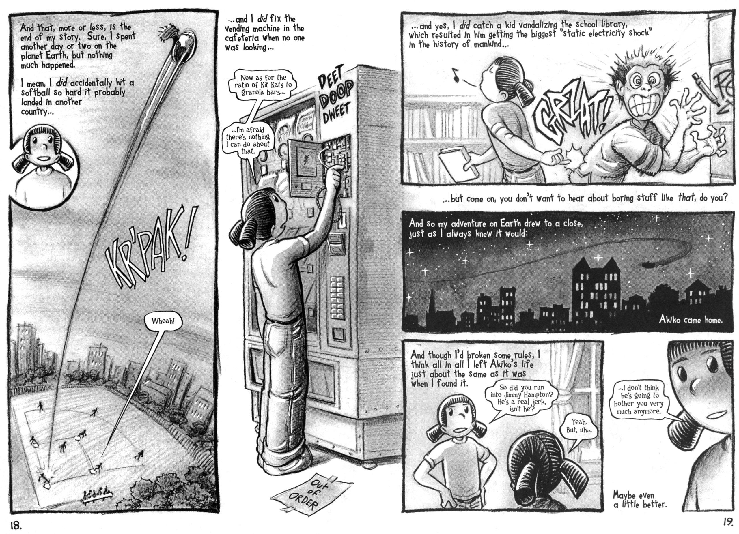 Read online Akiko comic -  Issue #49 - 12