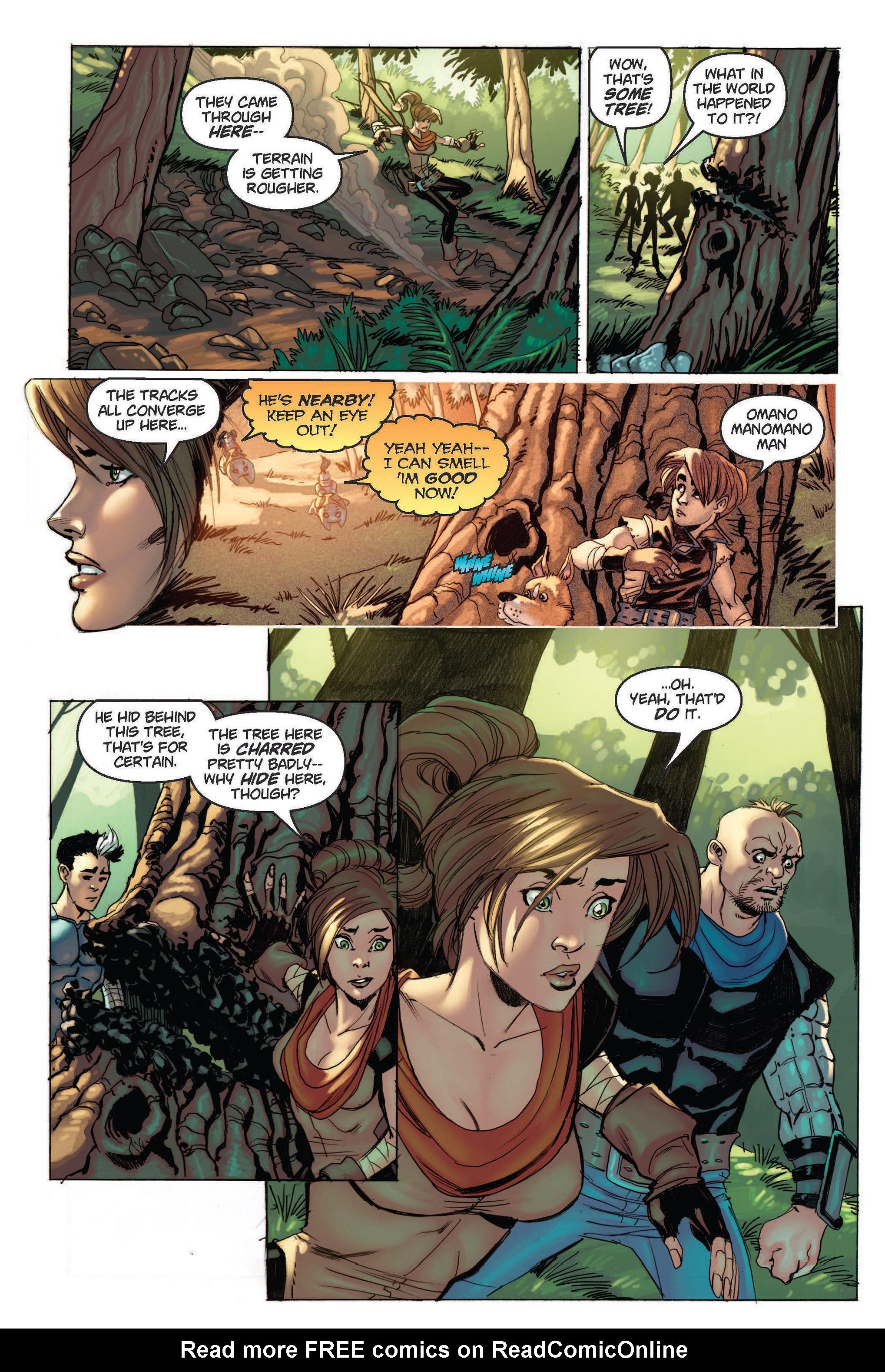 Read online Skyward comic -  Issue #2 - 16