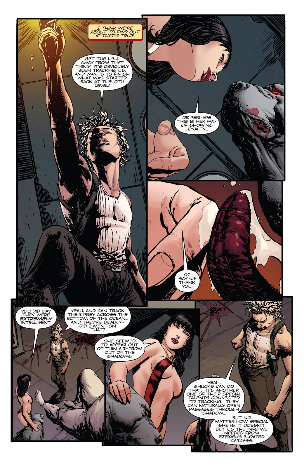 Read online Vampirella Strikes comic -  Issue #5 - 21