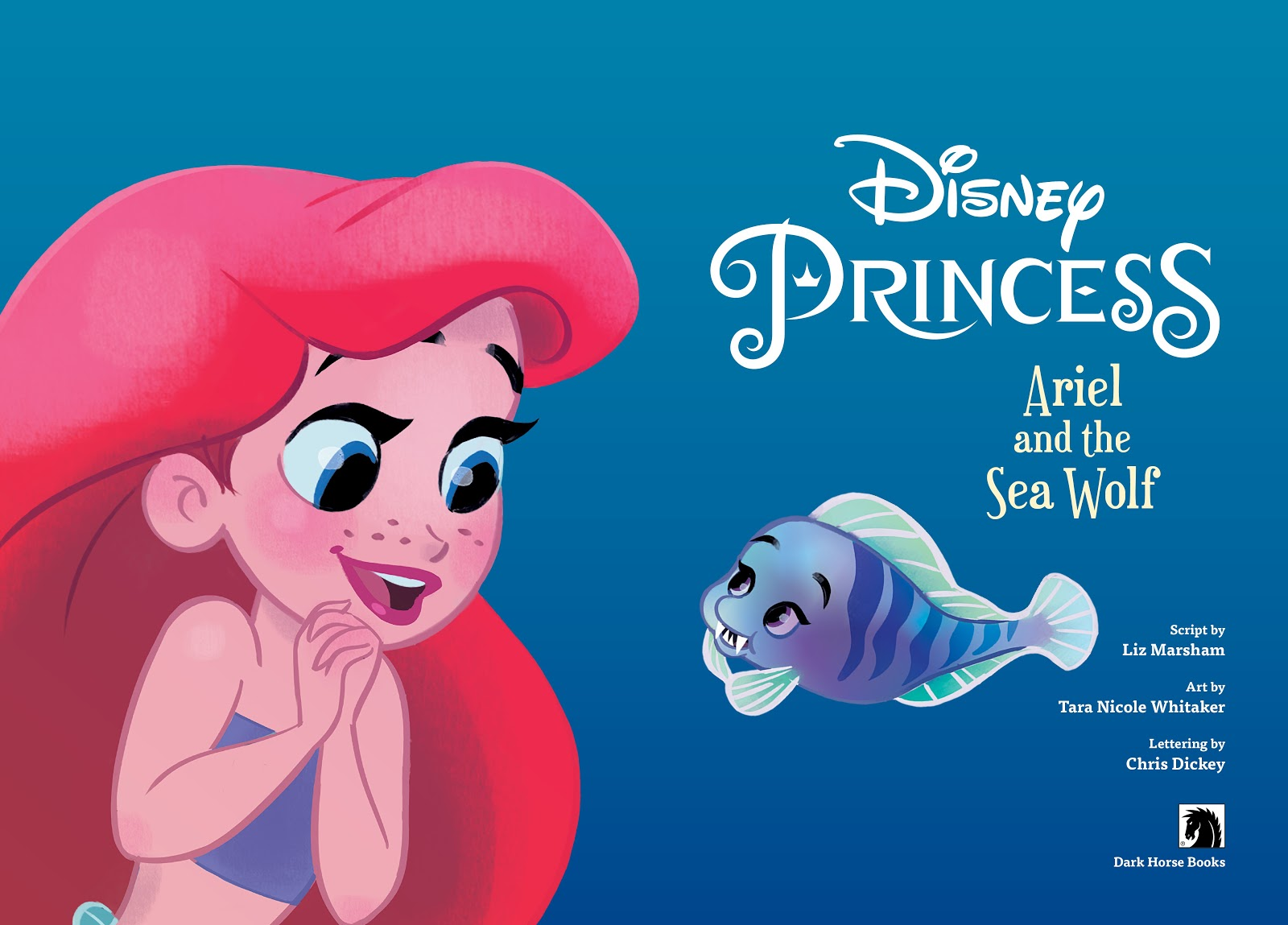 Read online Disney Princess: Ariel and the Sea Wolf comic -  Issue # Full - 3