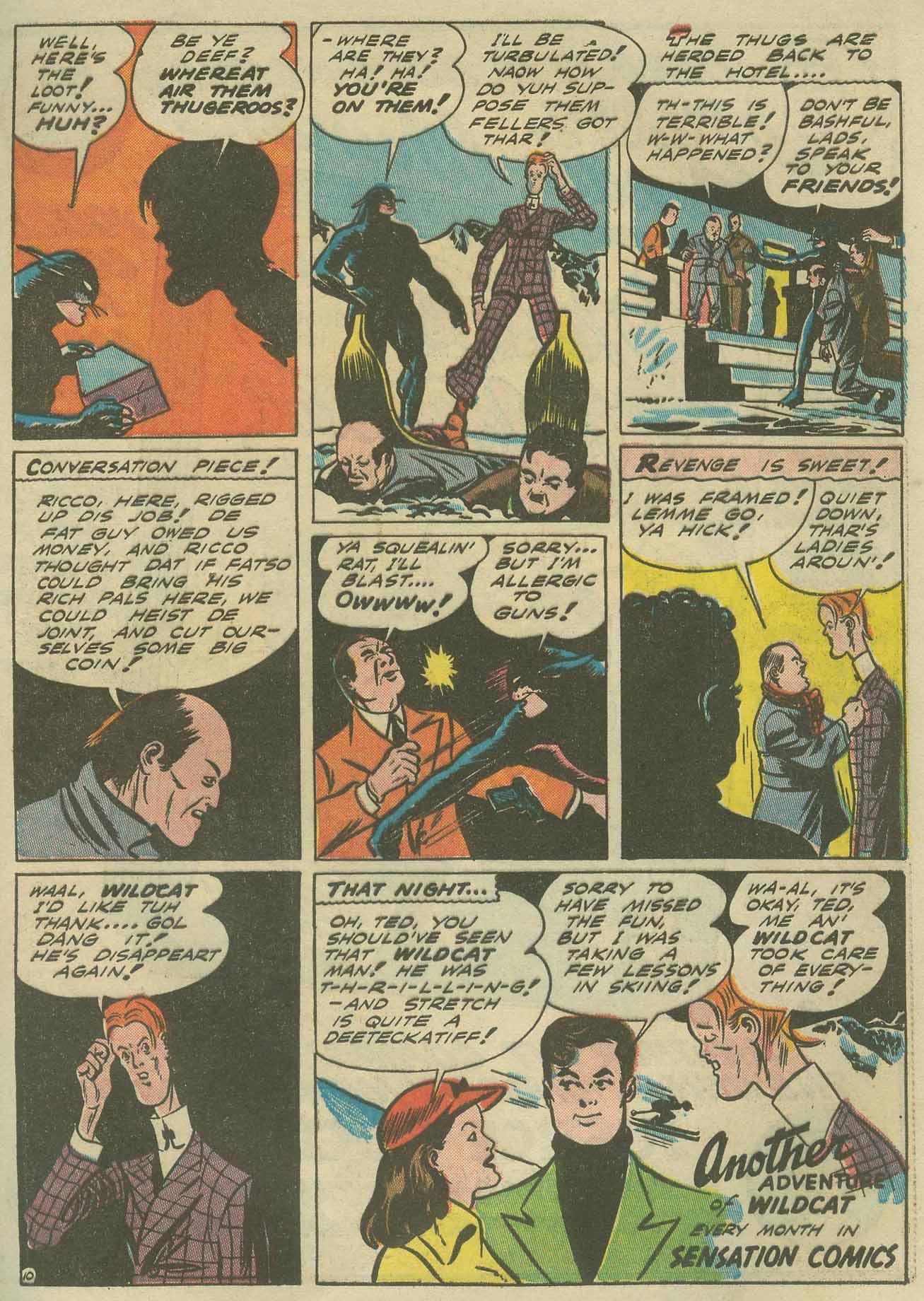 Read online Sensation (Mystery) Comics comic -  Issue #9 - 65