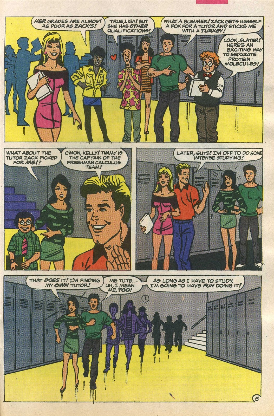 Read online Saved By The Bell comic -  Issue #1 - 24