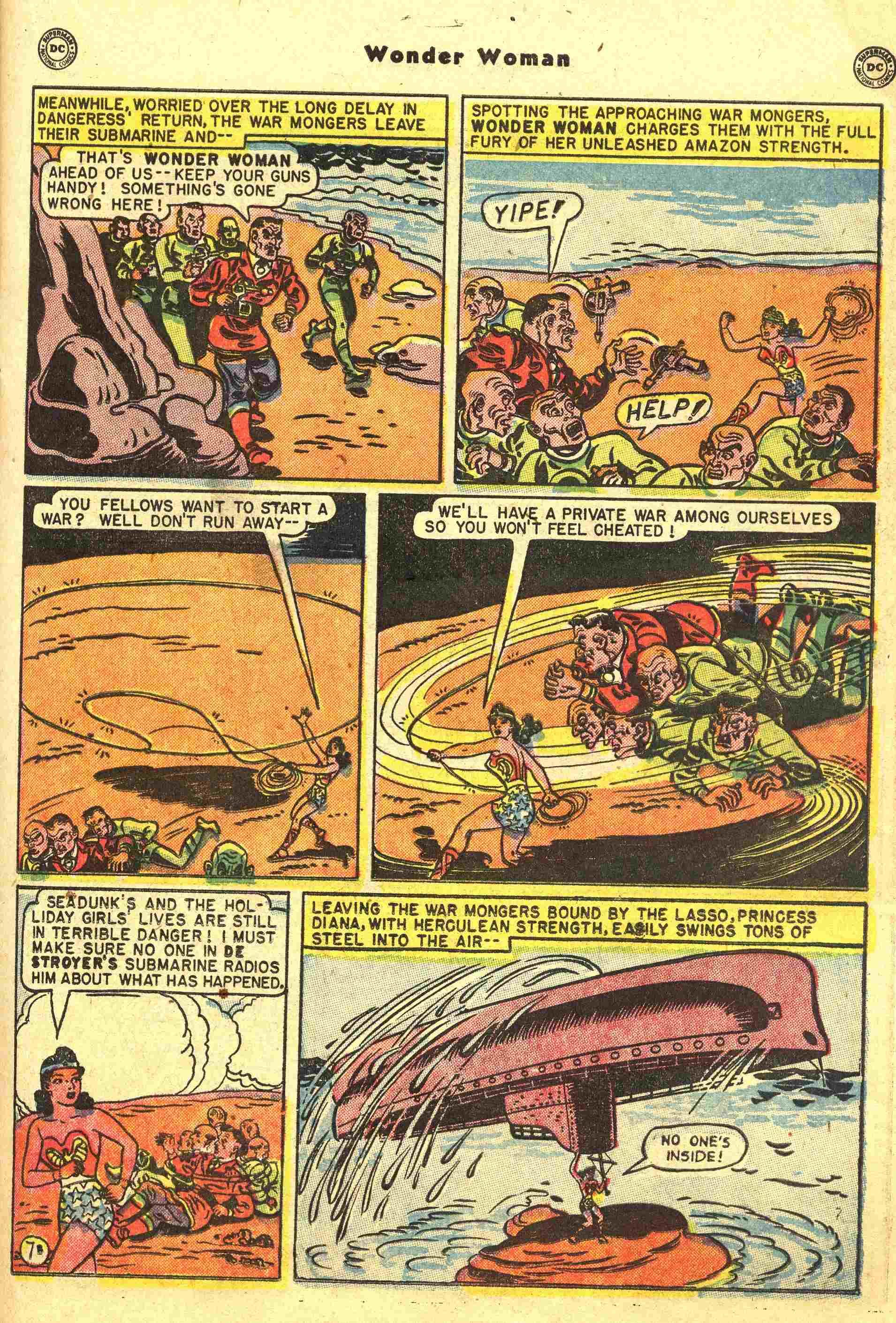 Read online Wonder Woman (1942) comic -  Issue #44 - 20