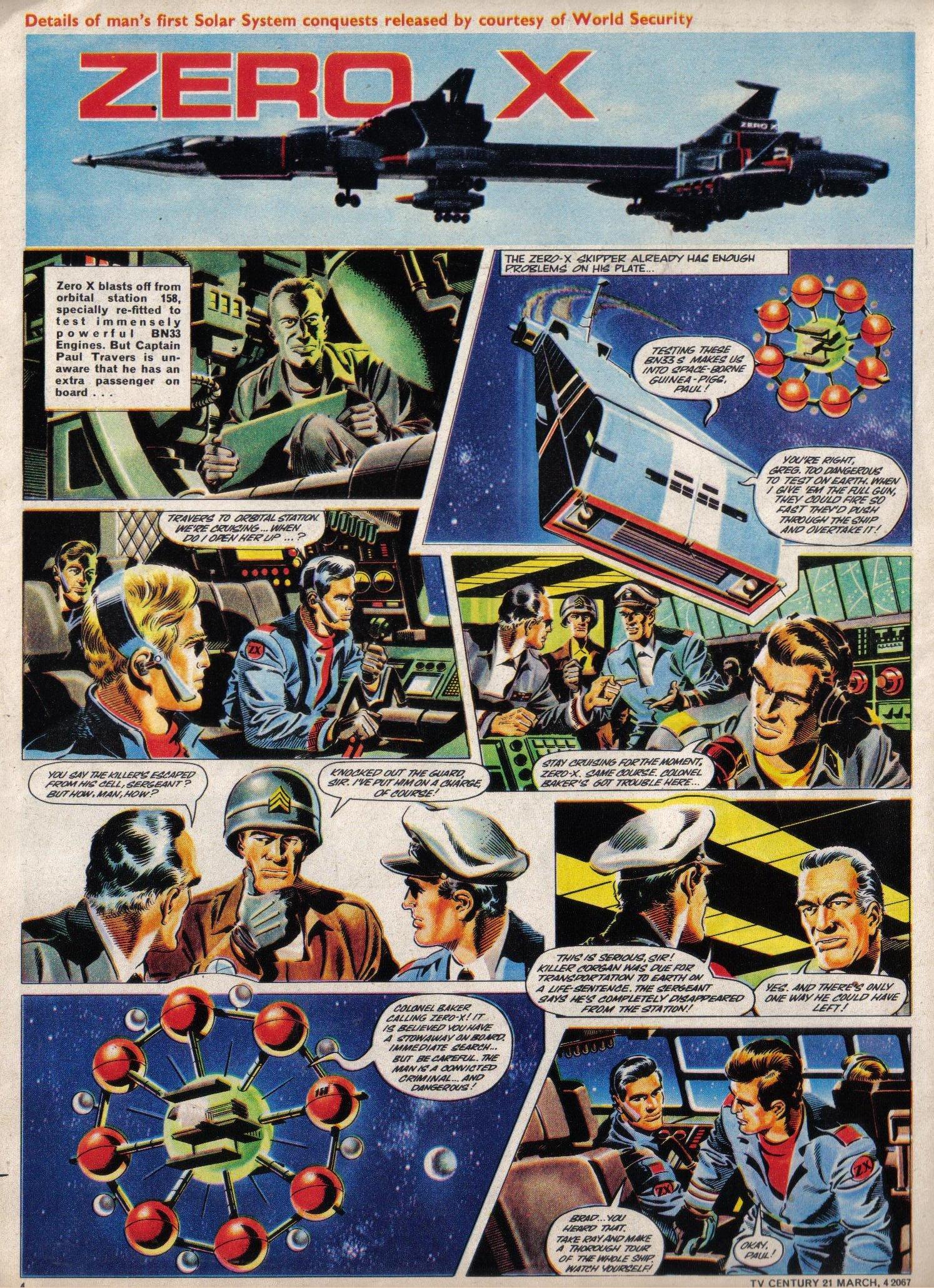 Read online TV Century 21 (TV 21) comic -  Issue #111 - 4