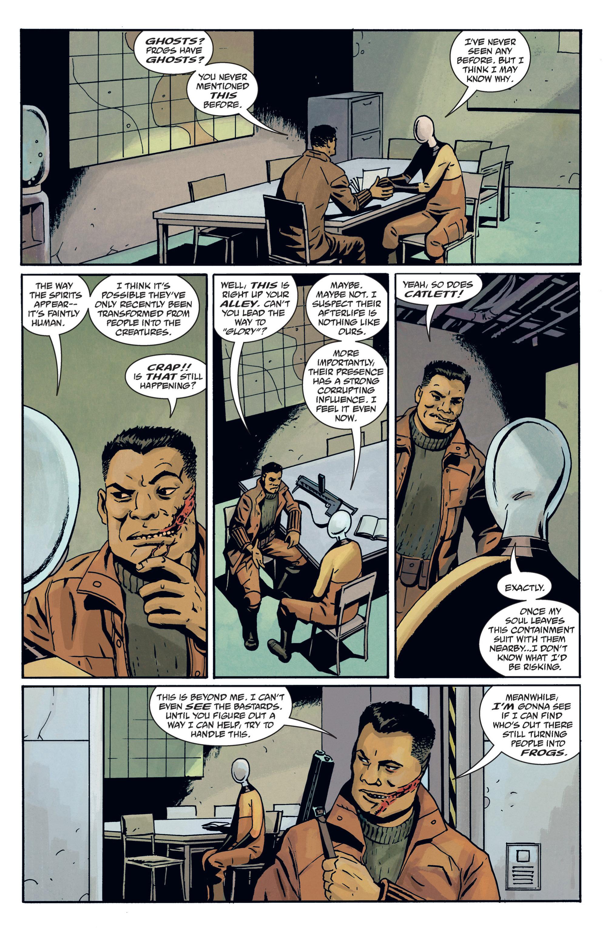 Read online B.P.R.D. (2003) comic -  Issue # TPB 12 - 96