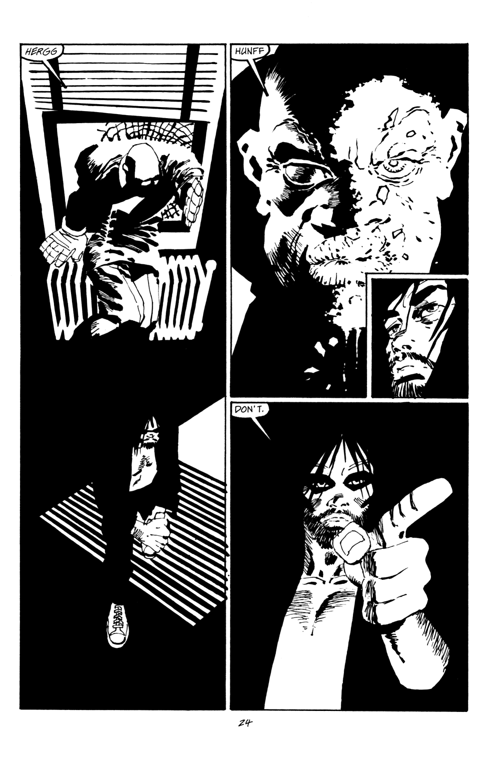 Read online Sin City: Hell and Back comic -  Issue #4 - 25