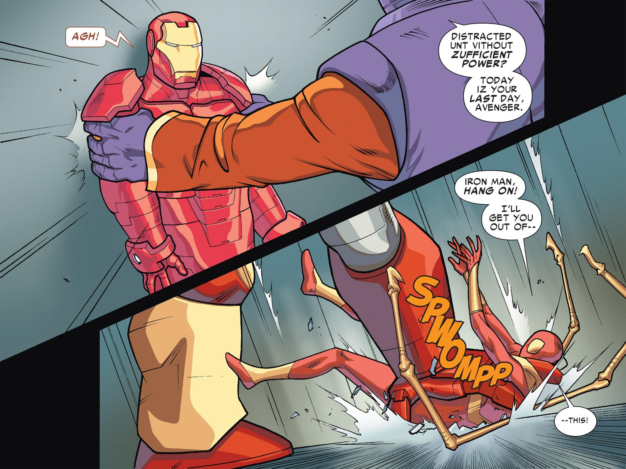 Read online Ultimate Spider-Man (Infinite Comics) (2016) comic -  Issue #5 - 19
