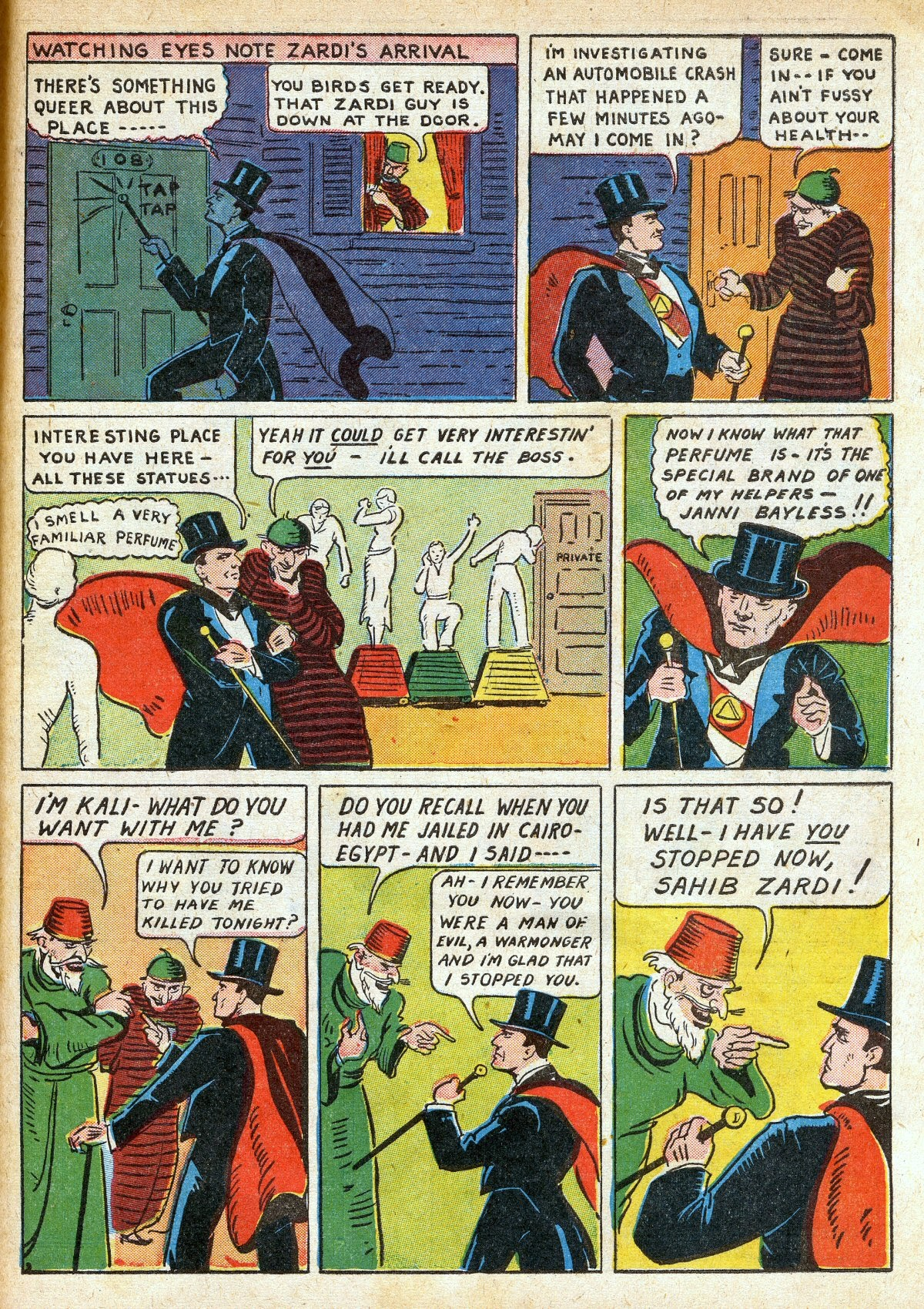 Read online Amazing Man Comics comic -  Issue #16 - 61