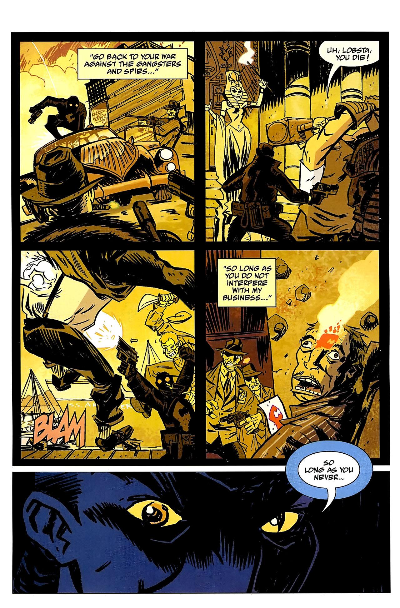 Read online Lobster Johnson: The Iron Prometheus comic -  Issue #2 - 21