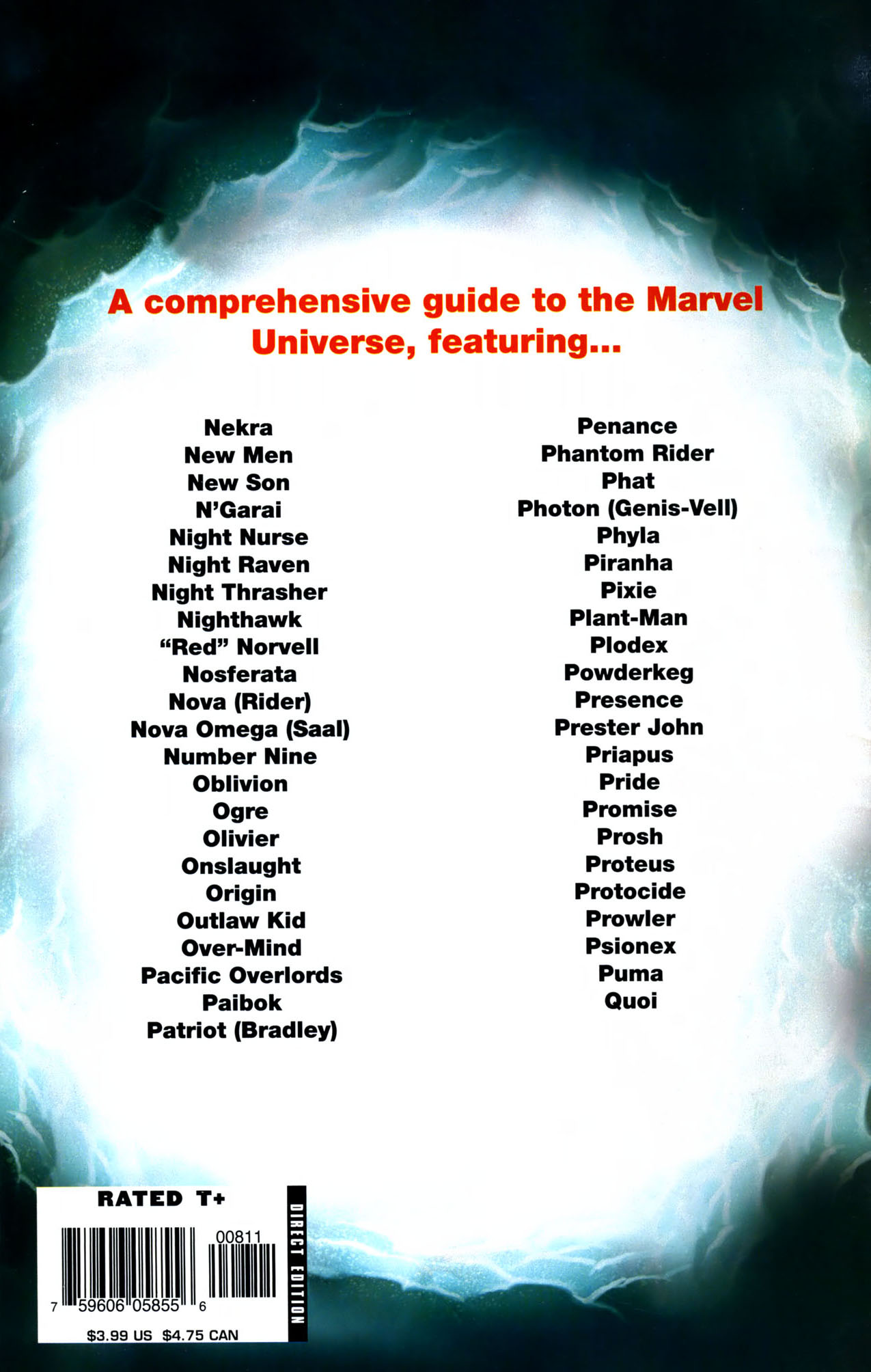 Read online All-New Official Handbook of the Marvel Universe A to Z comic -  Issue #8 - 67