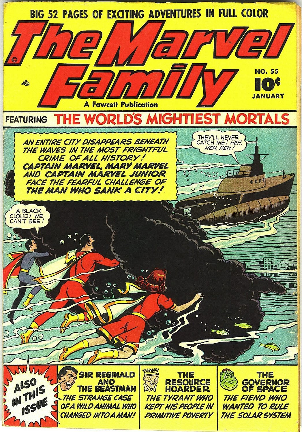 The Marvel Family issue 55 - Page 1