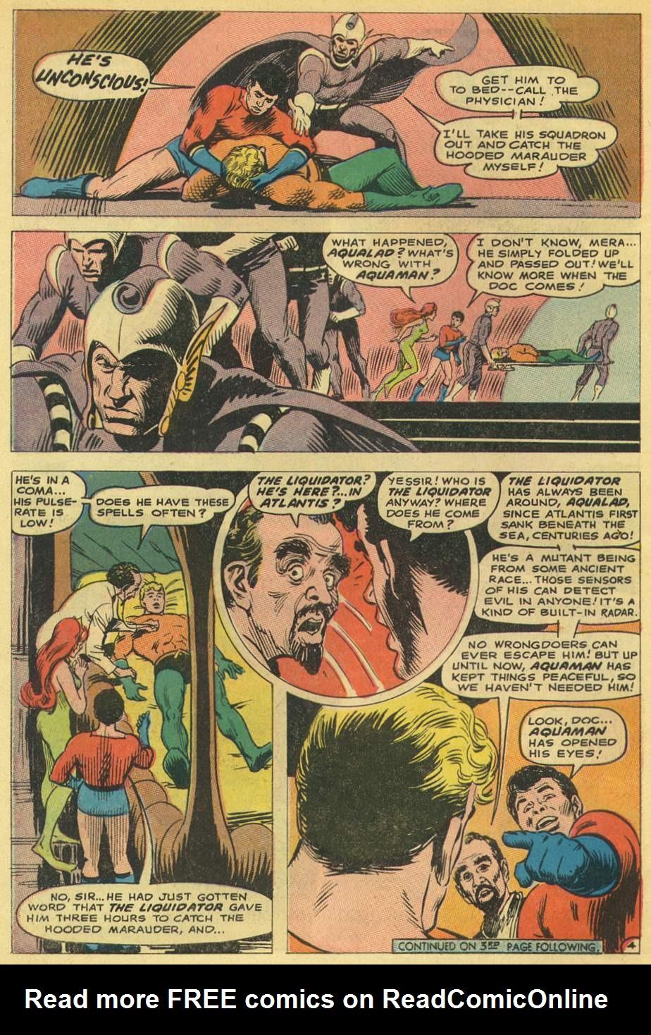 Read online Aquaman (1962) comic -  Issue #38 - 6