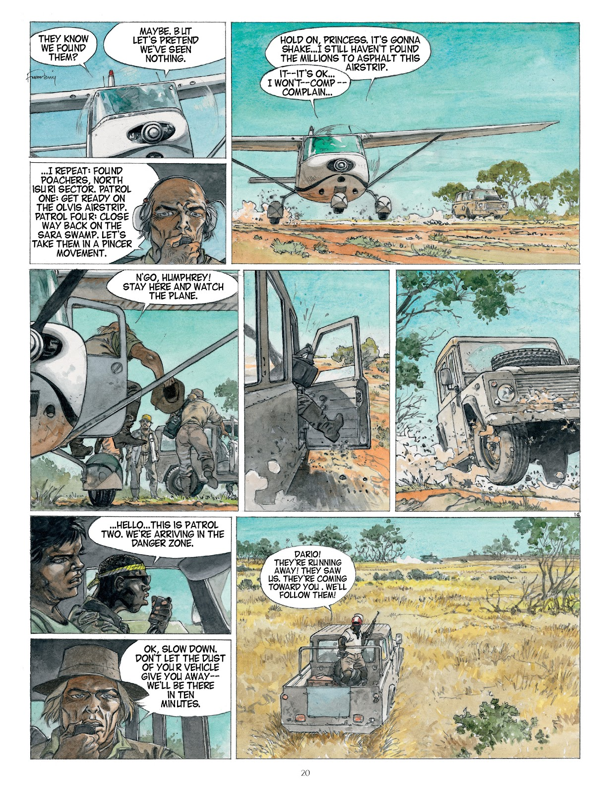 Read online Afrika comic -  Issue # TPB - 20
