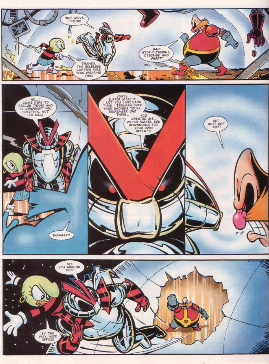 Read online Sonic the Comic comic -  Issue #67 - 27