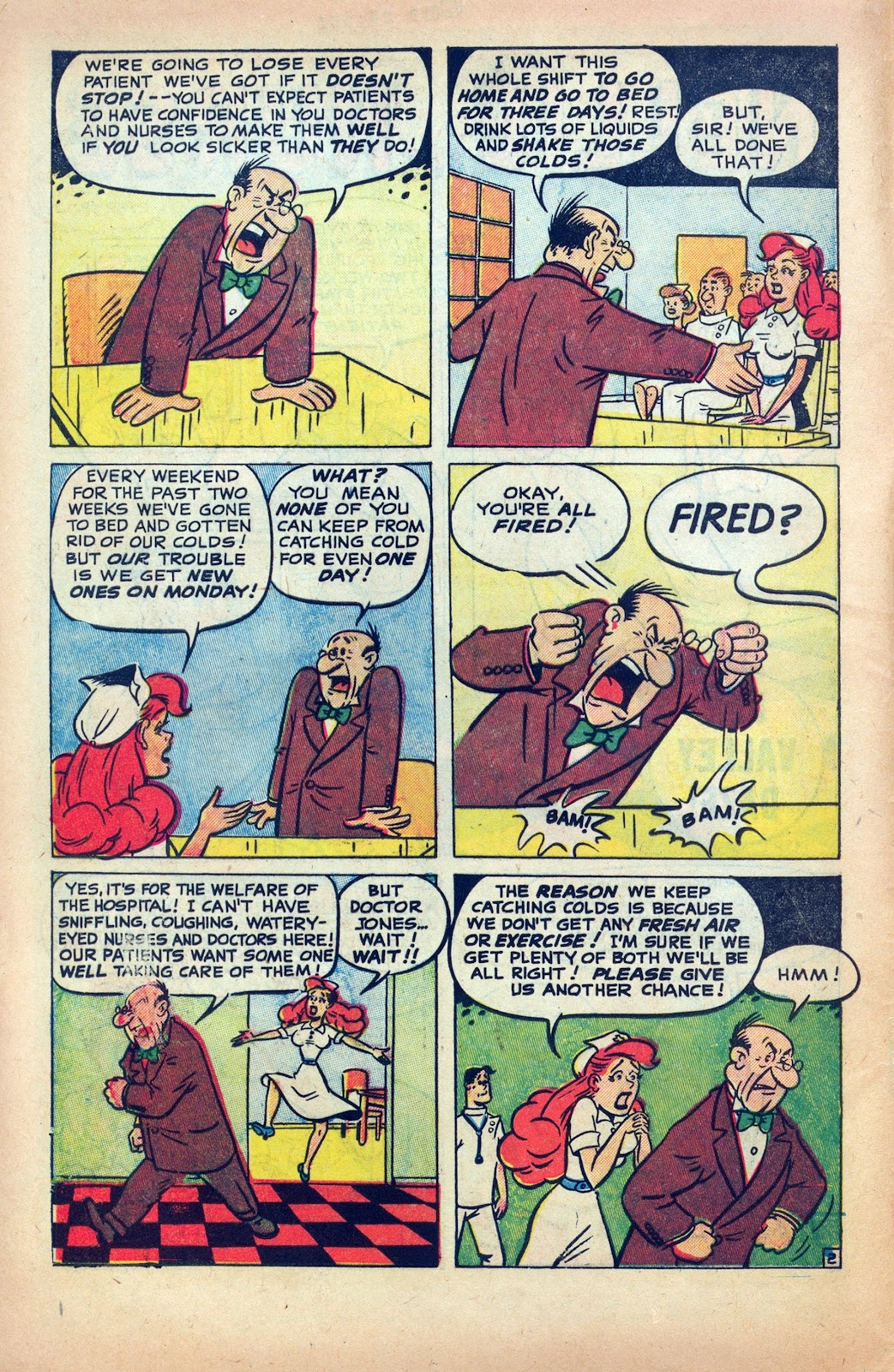Read online Nellie The Nurse (1945) comic -  Issue #25 - 4
