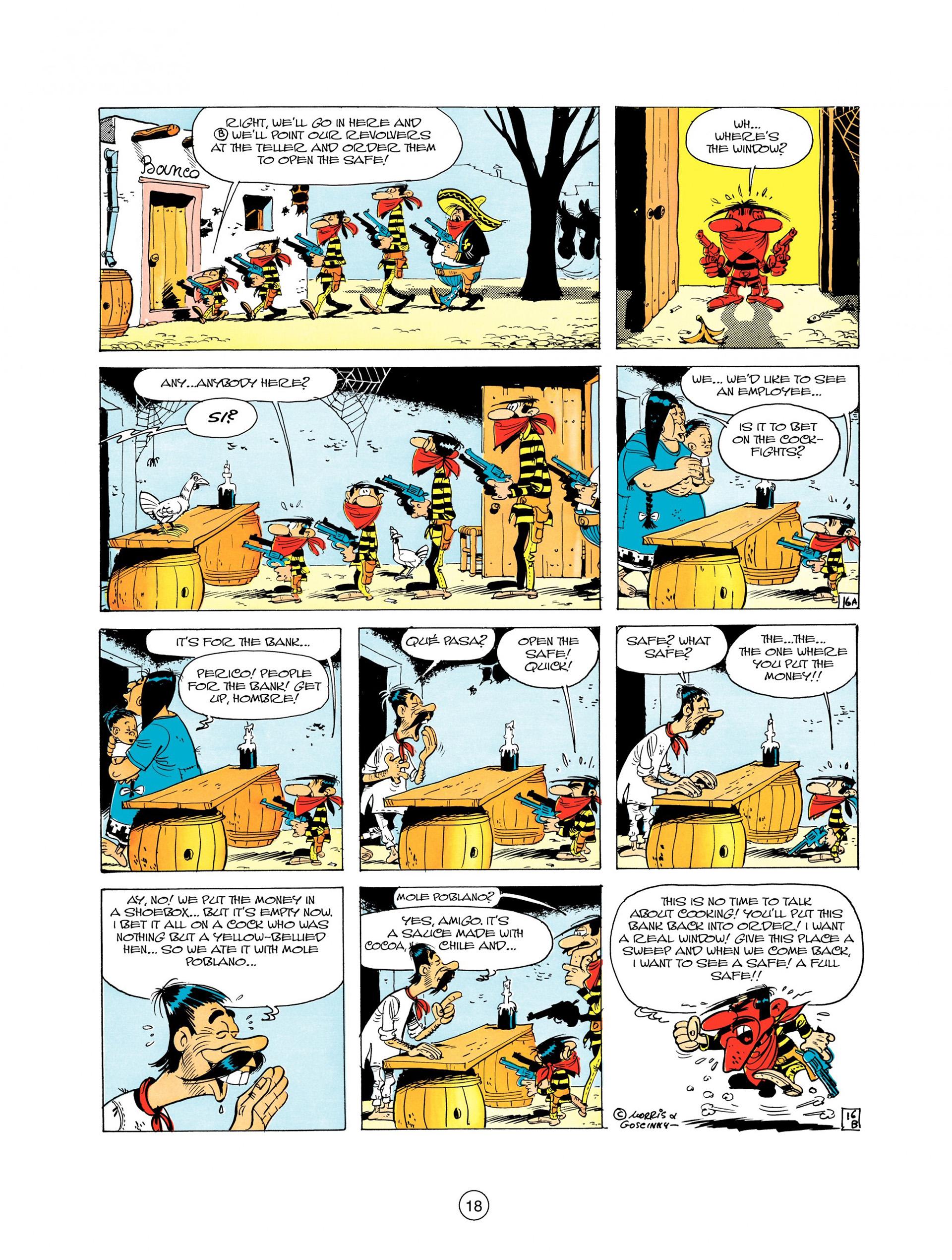 Read online A Lucky Luke Adventure comic -  Issue #10 - 18