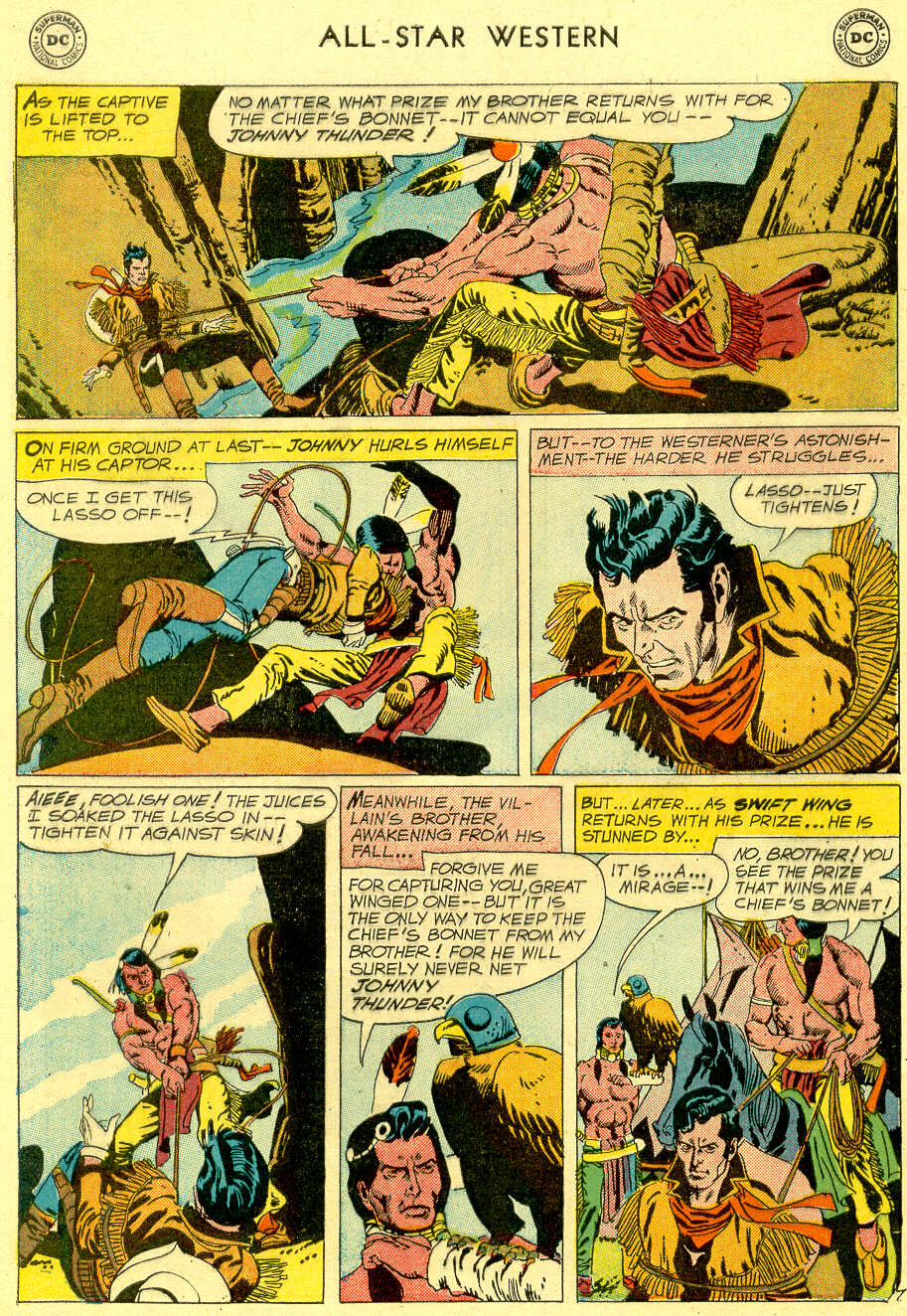 Read online All-Star Western (1951) comic -  Issue #103 - 30