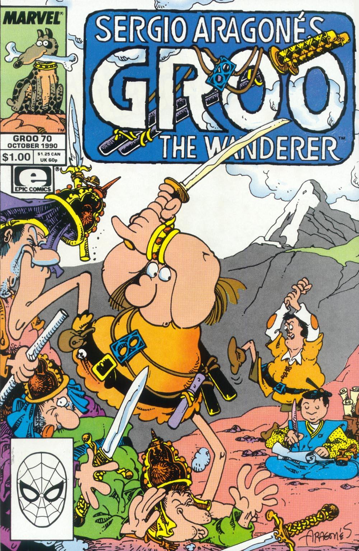 Read online Sergio Aragonés Groo the Wanderer comic -  Issue #70 - 1