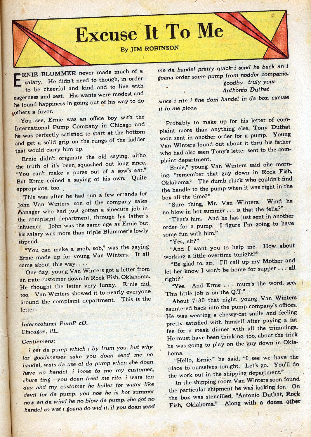 Read online Sensation (Mystery) Comics comic -  Issue #47 - 33