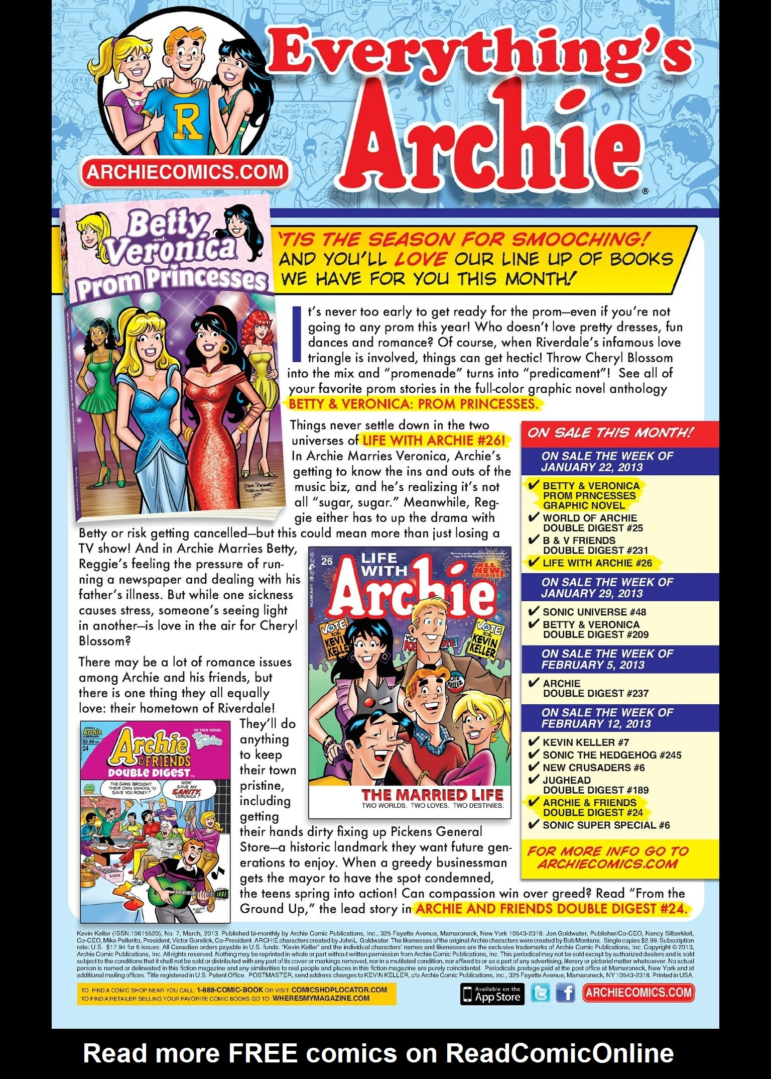 Read online Kevin Keller comic -  Issue #7 - 24