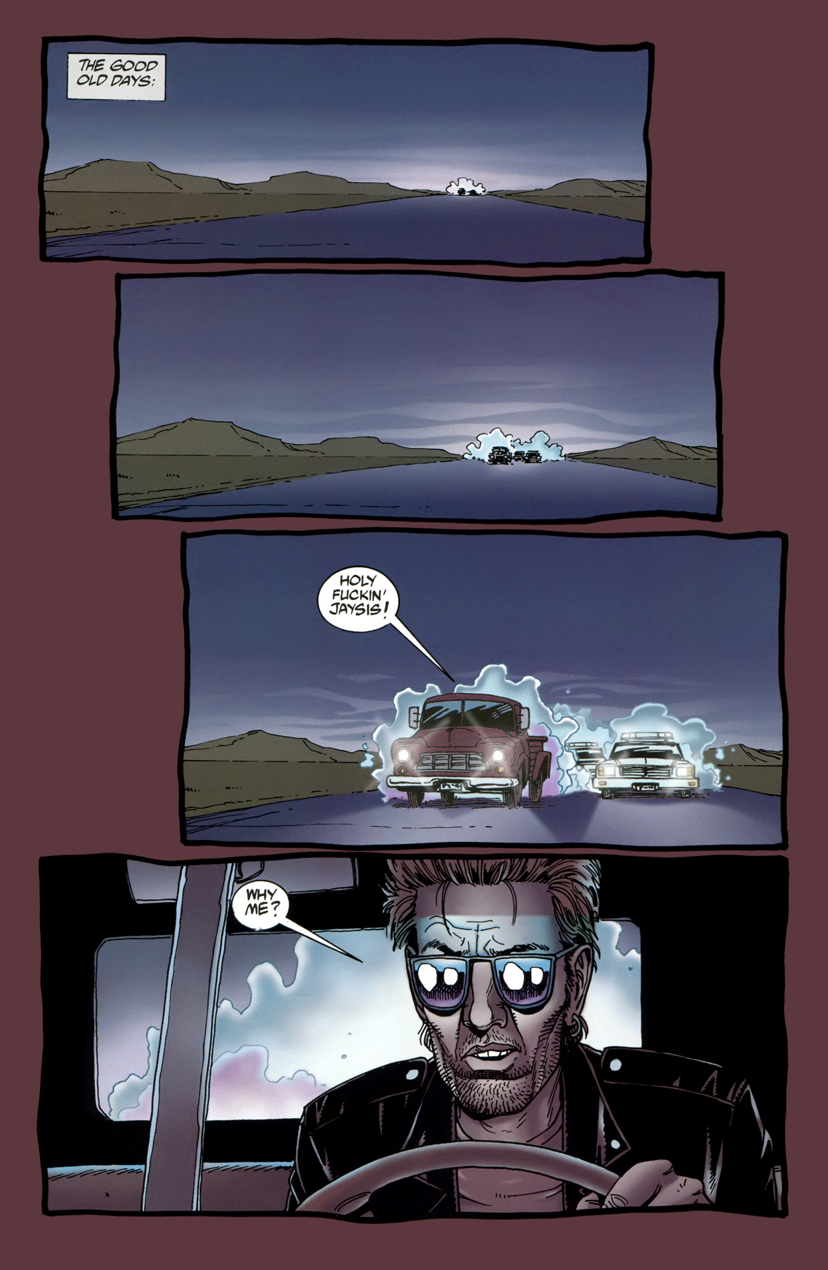 Read online Preacher Special: Cassidy : Blood and Whiskey comic -  Issue # Full - 3