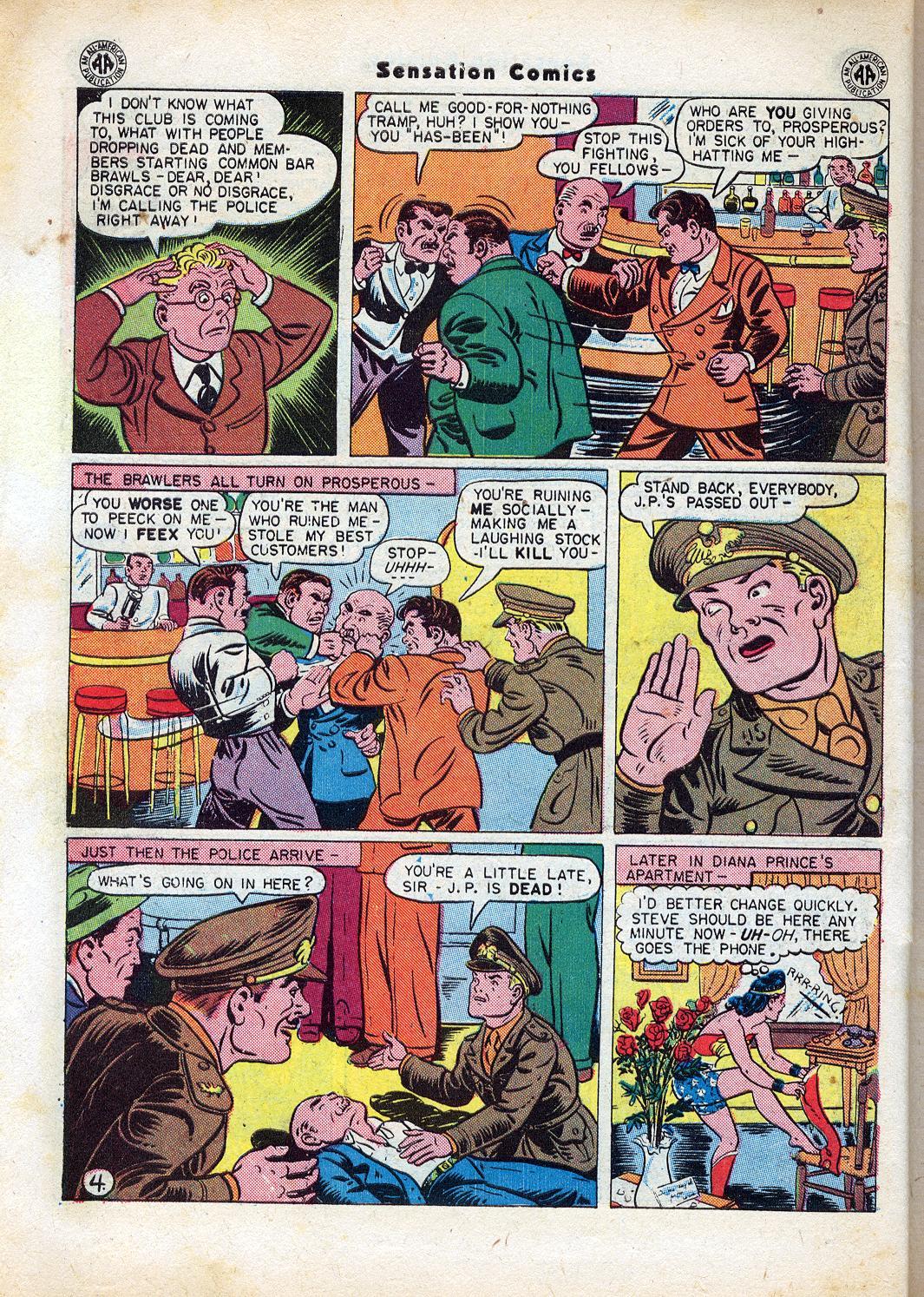 Read online Sensation (Mystery) Comics comic -  Issue #47 - 6