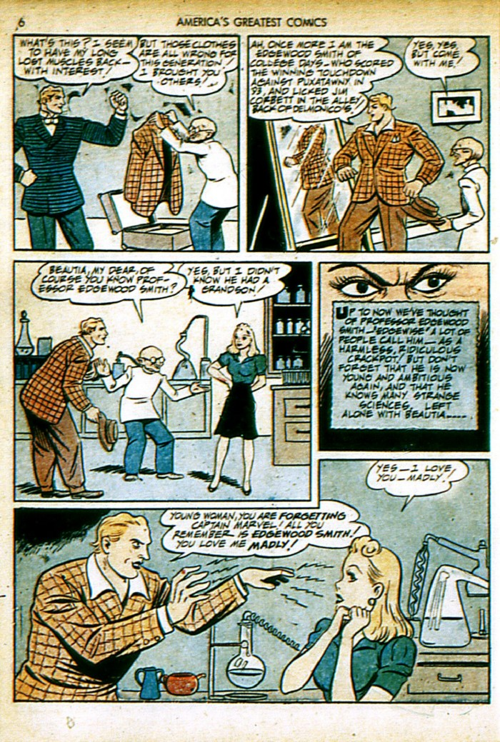 Read online America's Greatest Comics comic -  Issue #4 - 6