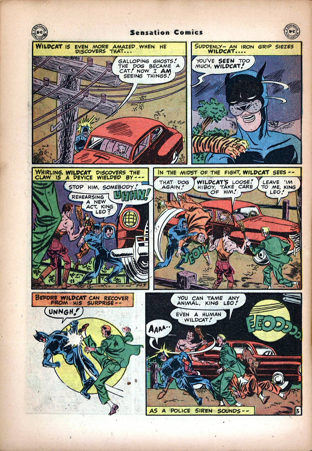 Read online Sensation (Mystery) Comics comic -  Issue #72 - 44