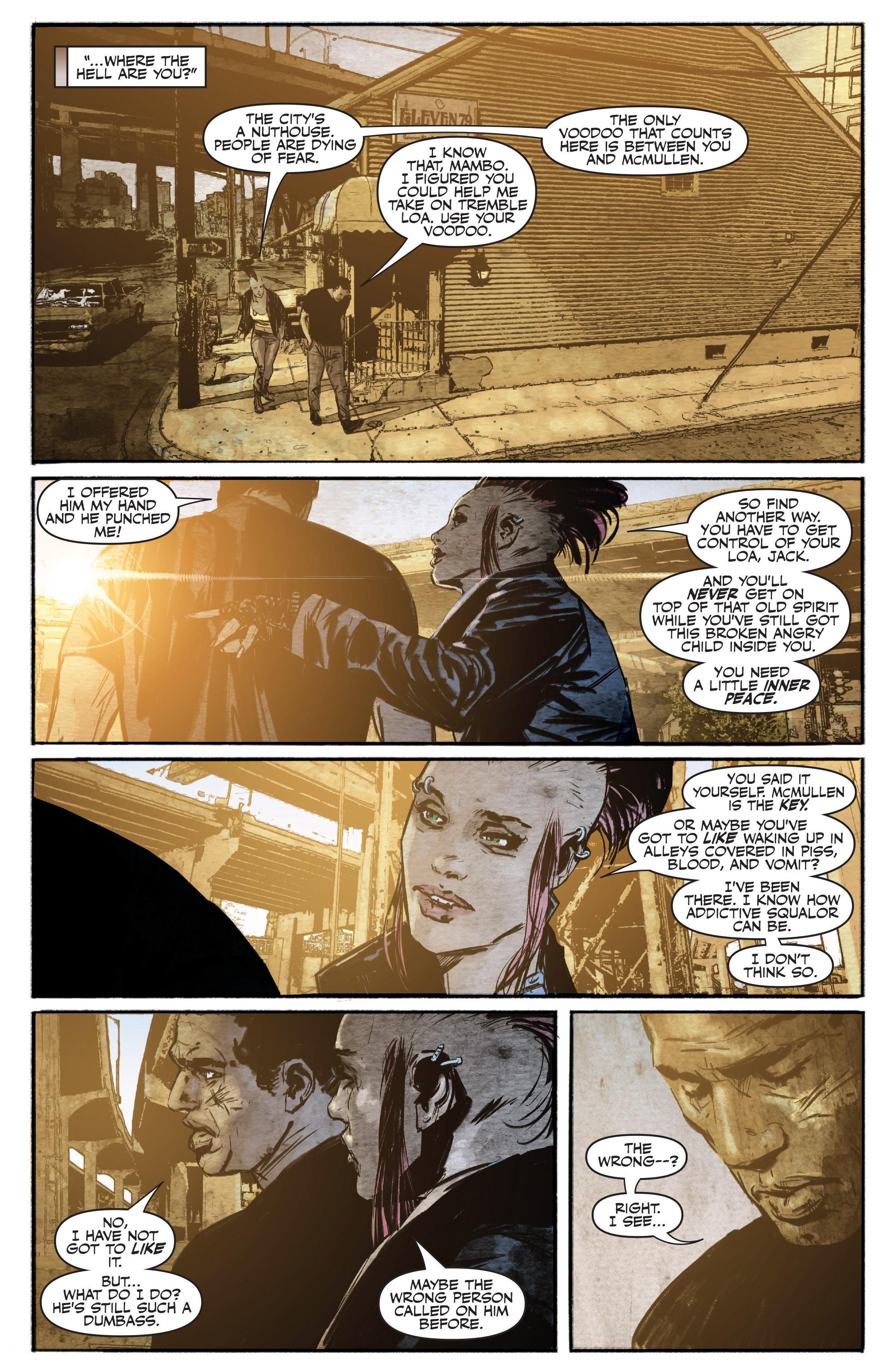 Read online Shadowman (2012) comic -  Issue #16 - 12